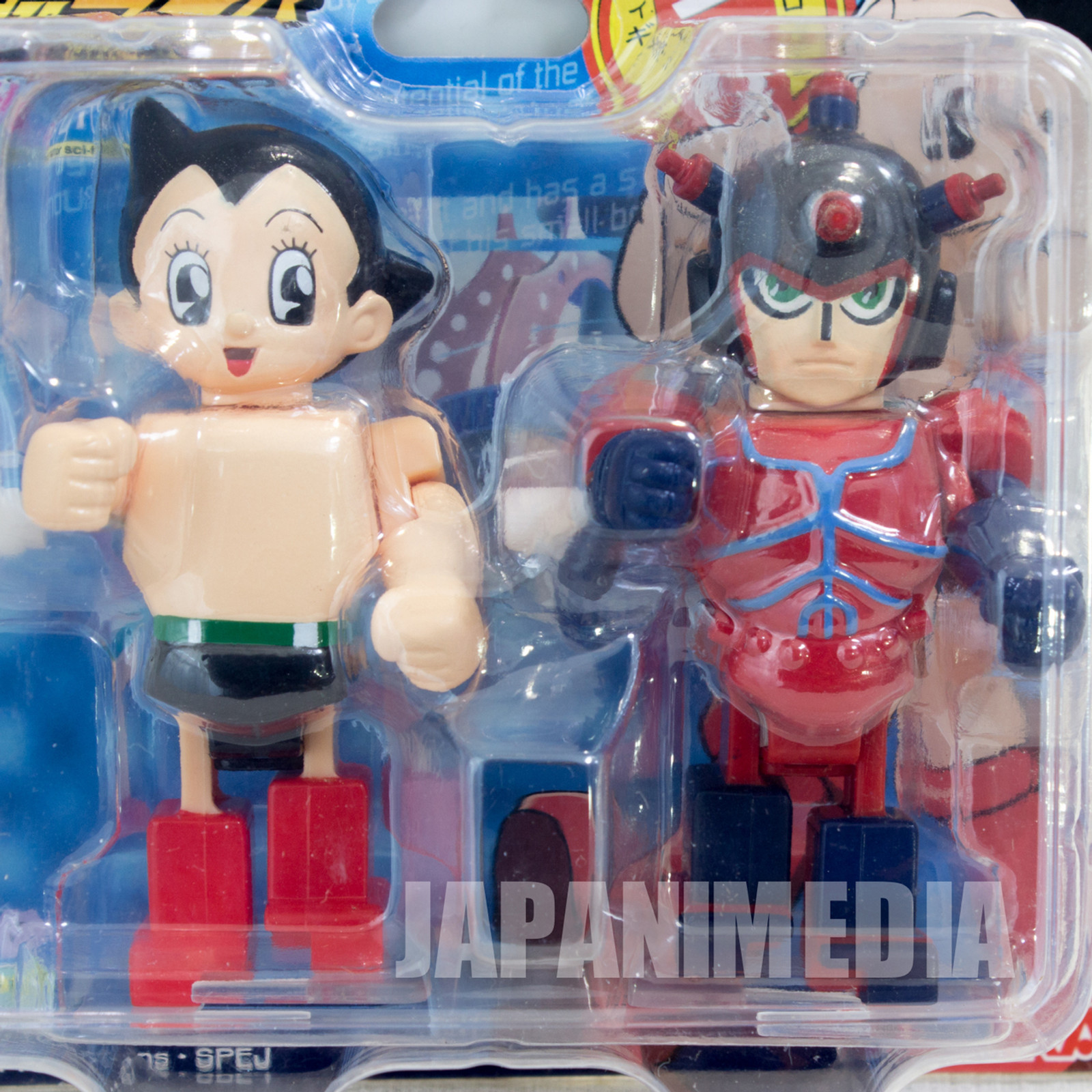 Astro Boy Atom & Atlas ZEN MYCLONE Wind-up motor sci-fi Figure JAPAN ANIME MANGA