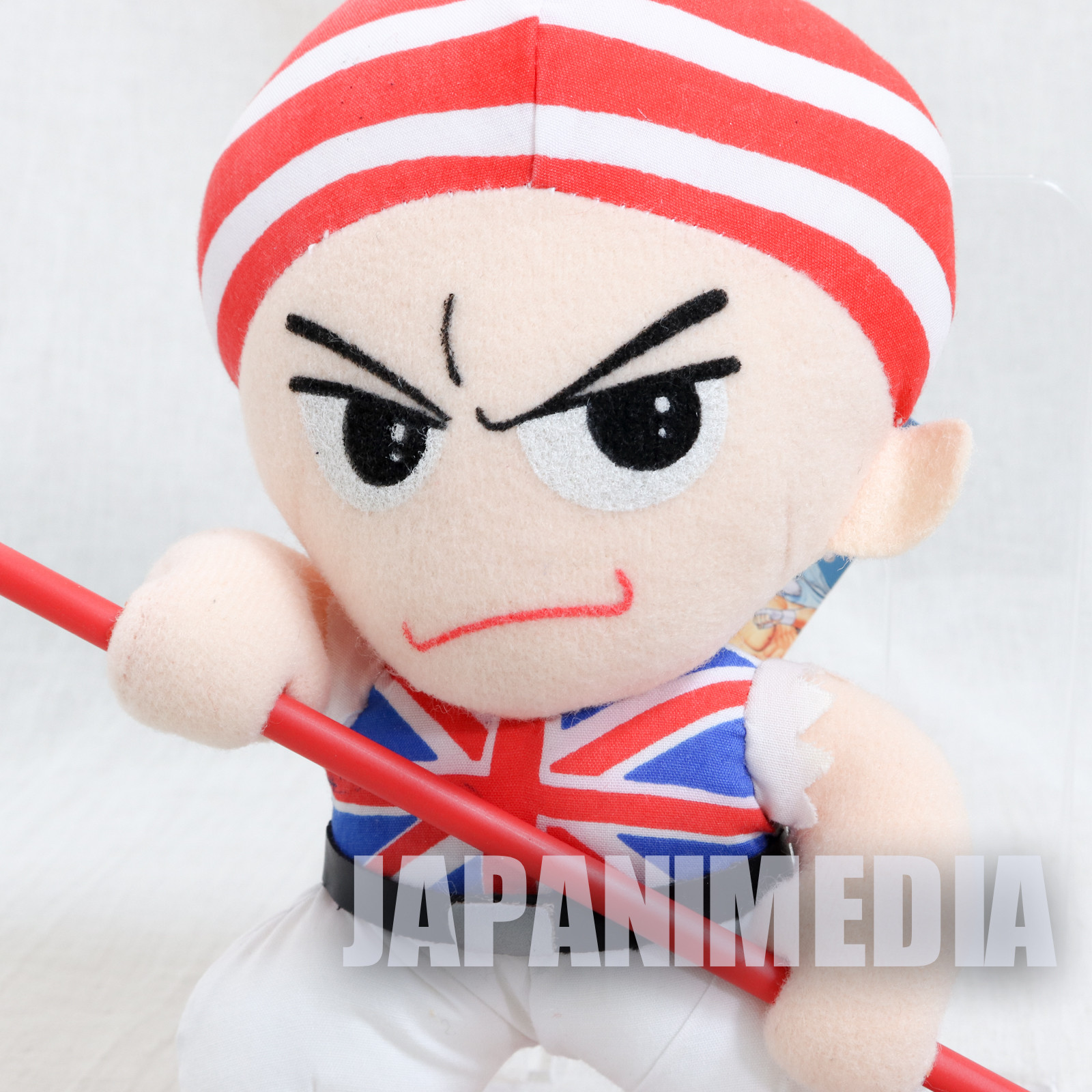 RARE! Fatal Fury Special Billy Kane Plush Doll Takara SNK JAPAN