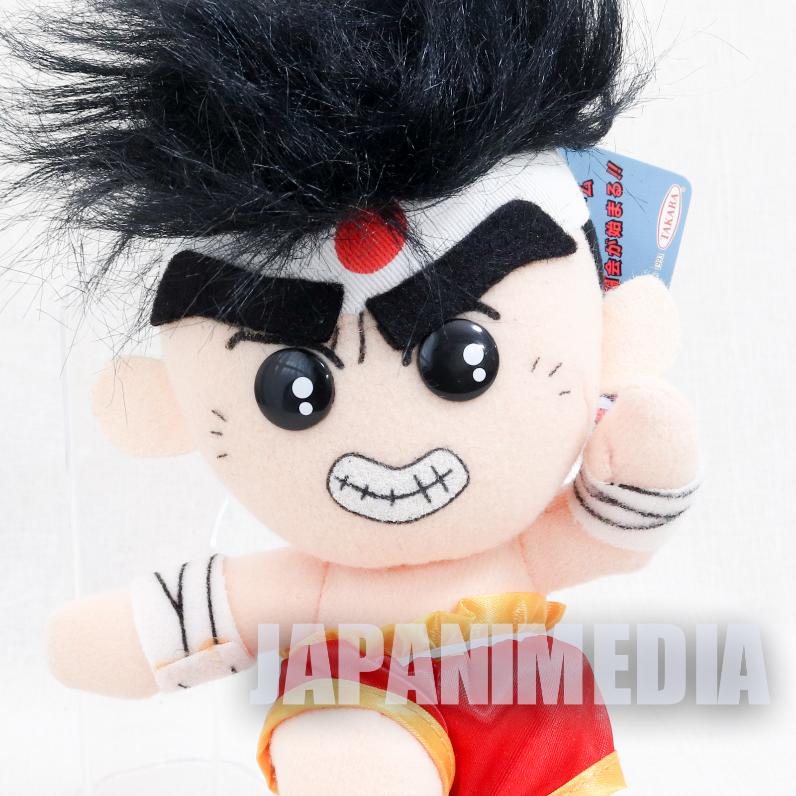 RARE! Fatal Fury Special Joe Higashi Plush Doll Takara SNK JAPAN