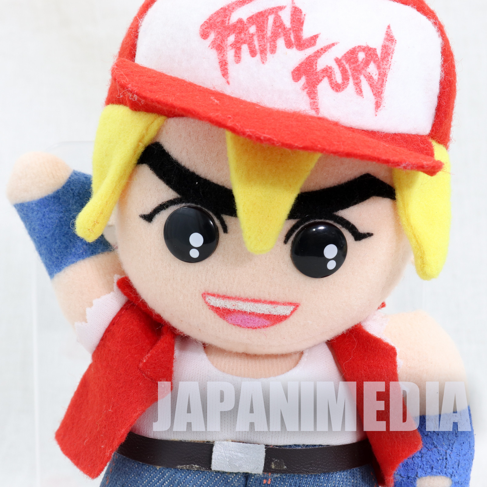 RARE! Fatal Fury Special Terry Bogard Plush Doll Takara SNK JAPAN
