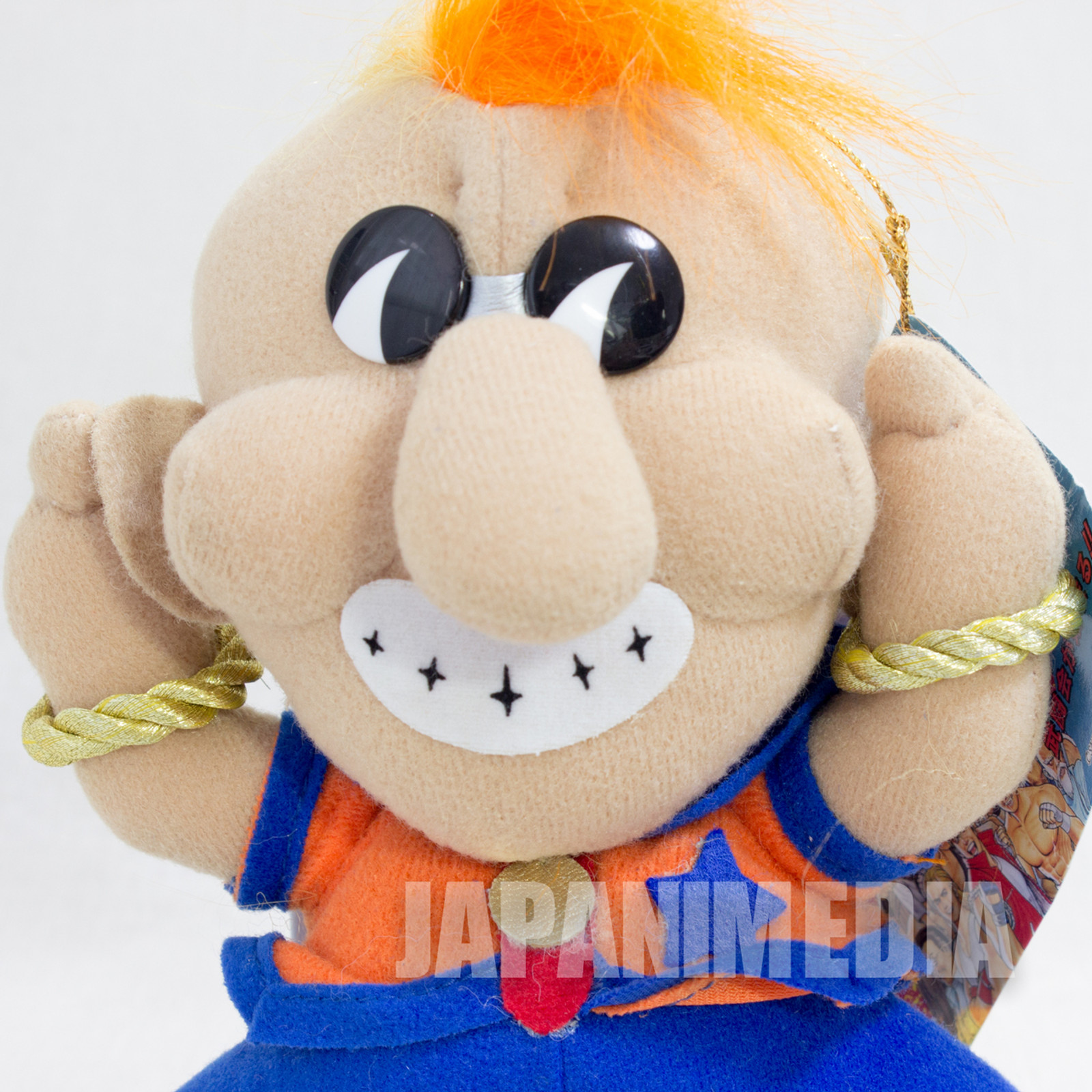 RARE! Fatal Fury Special Duck King Plush Doll Takara SNK JAPAN