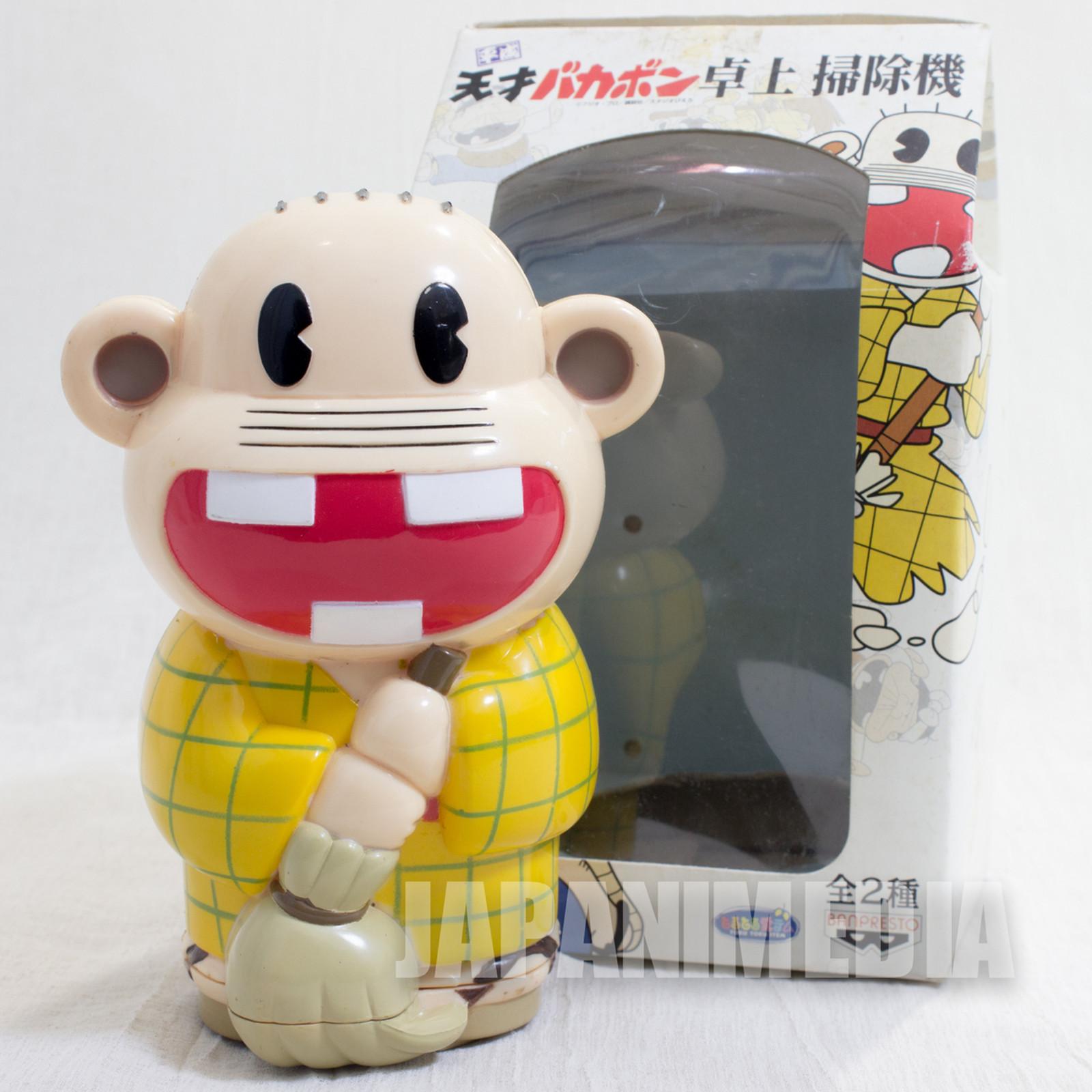 Tensai Bakabon Rerere no Oji-san Figure Desktop Cleaner Fujio Akatsuka JAPAN