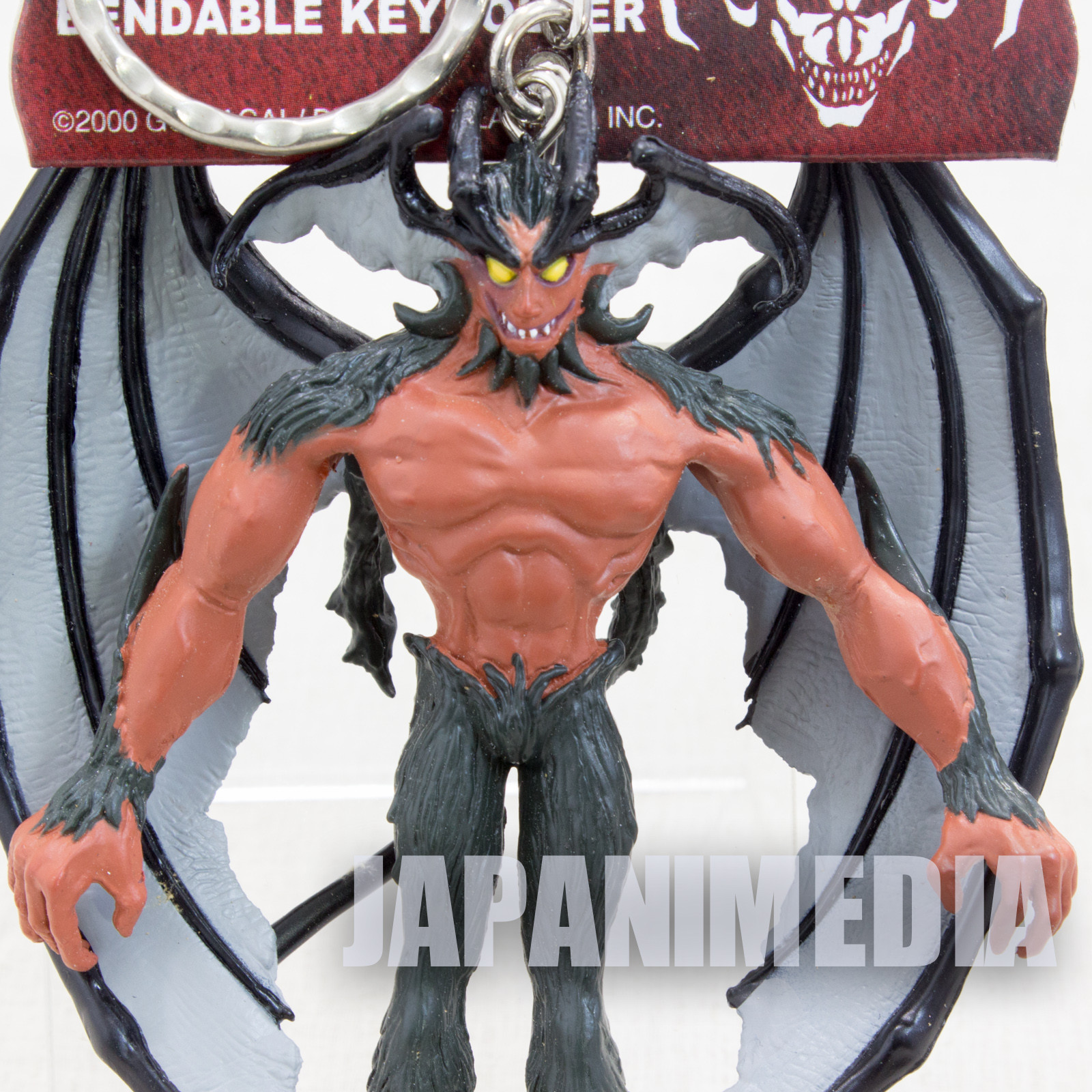 The Darkside of Devilman Amon Figure Key Chain Banpresto JAPAN ANIME NAGAI GO 2