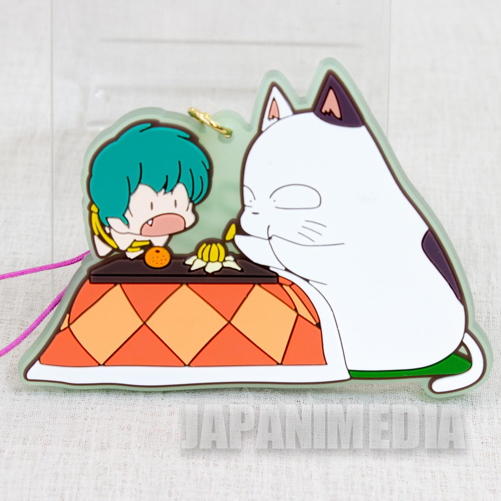 Urusei Yatsura Kotatsuneko & TEN Mascot Rubber Strap JAPAN ANIME MANGA