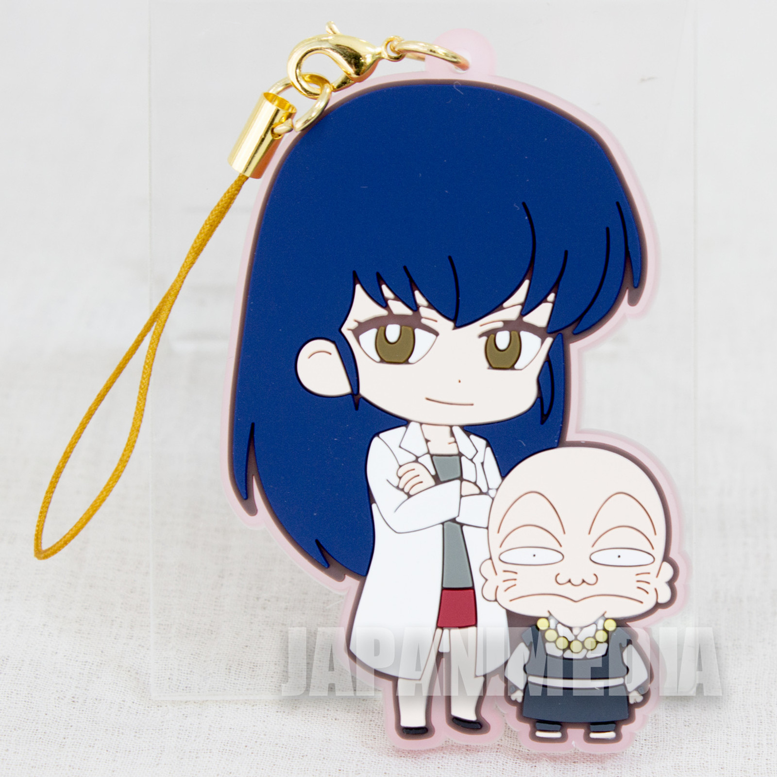 Urusei Yatsura Sakura & Sakuranbou Mascot Rubber Strap JAPAN ANIME MANGA