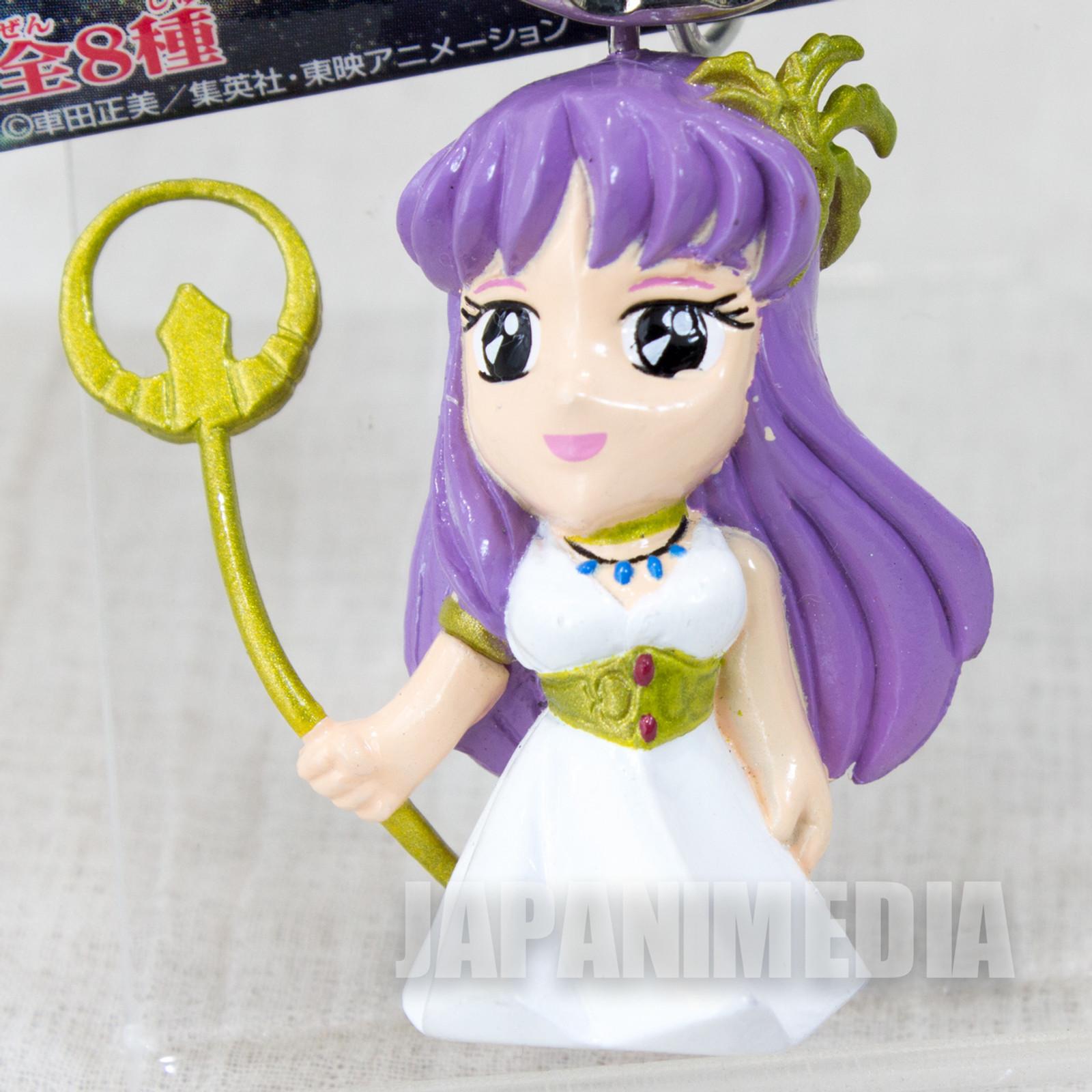 Saint Seiya Athena Saori Kido Figure Key Chain JAPAN ANIME MANGA