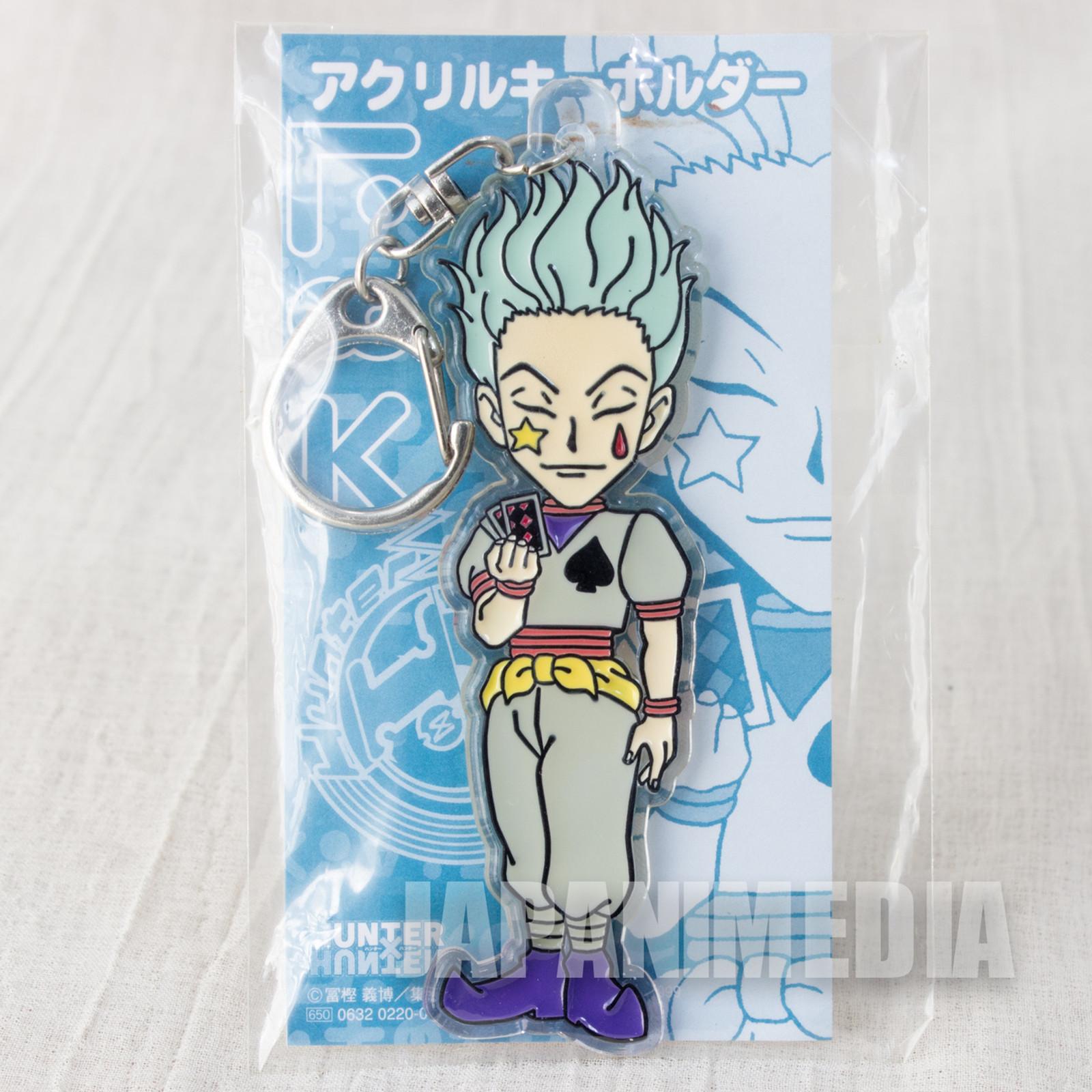 RARE! Hunter x Hunter Hisoka Acrylic Mascot Keychain JAPAN ANIME MANGA