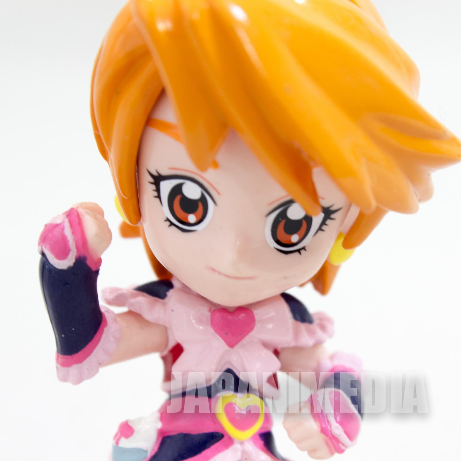 Futari wa Pretty Cure Max Heart Cure Black (Misumi Nagisa) Petit cute Figure JAPAN ANIME