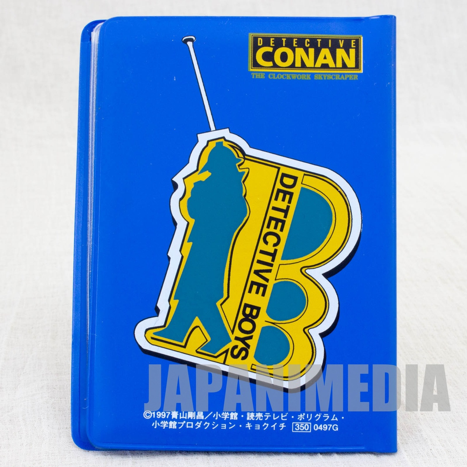 Case Closed Card Case / Detective Conan The Time Bombed Skyscraper JAPAN ANIME MANGA
