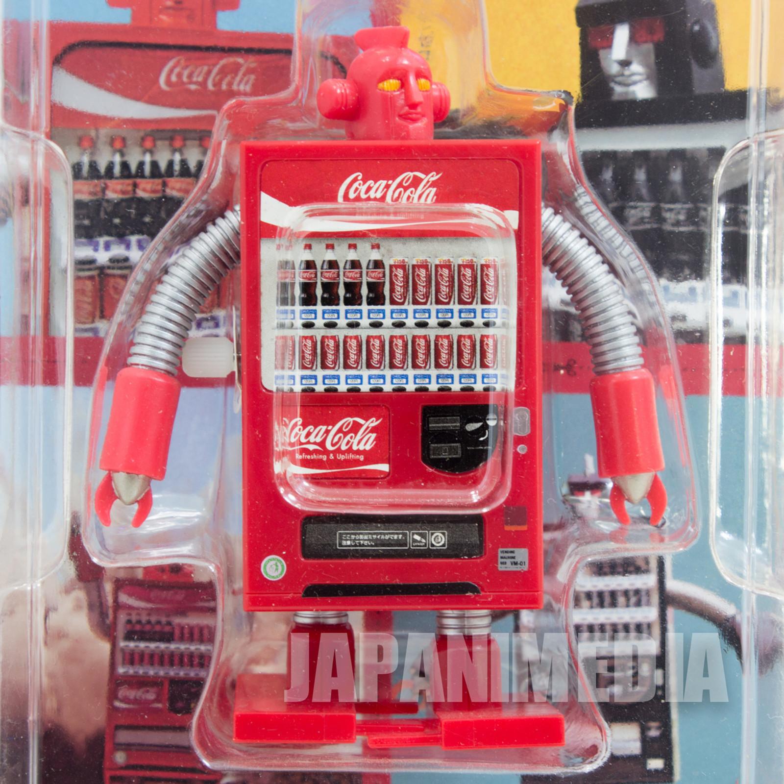 Coca-Cola Bending Machine Robot Wind-up Walking Figure Red ver. SEGA JAPAN
