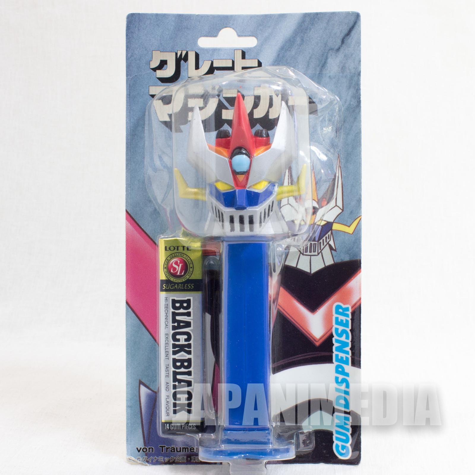 """RARE! Great Mazinger Gum Dispenser 6"""" Figure JAPAN GAME PEZ"""