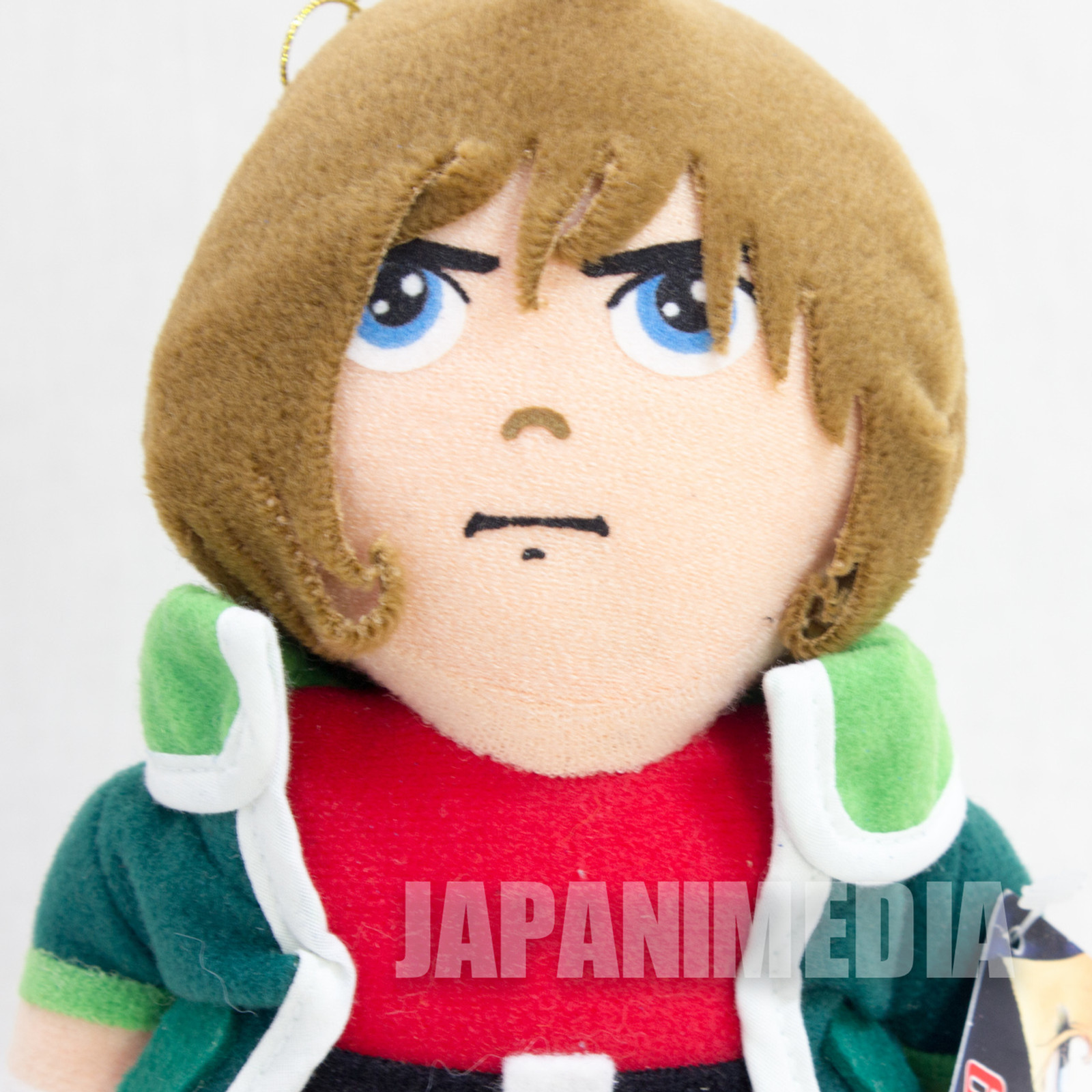 RARE! Galaxy Express 999 Tetsuo Hoshino Plush Doll Figure Banpresto JAPAN