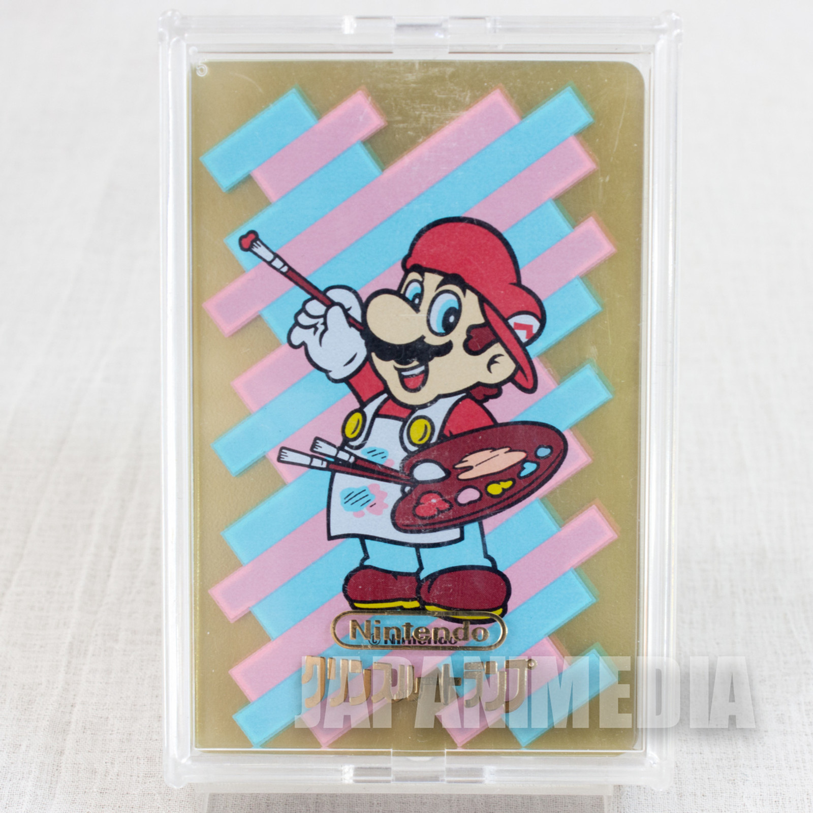 Super Mario Paint Trump Clear Playing Cards JAPAN FAMICOM