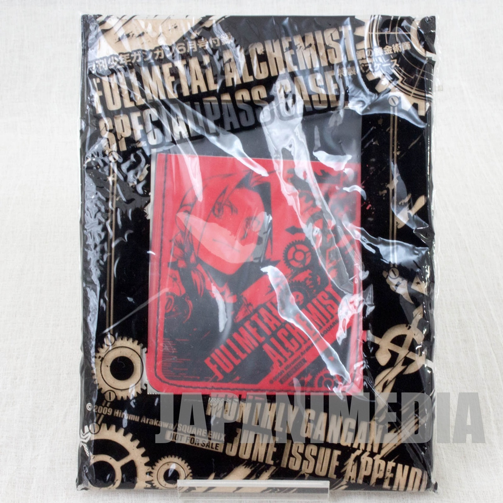 Fullmetal Alchemist Edward Elric Card Case Monthly Shonen Gangan JAPAN ANIME