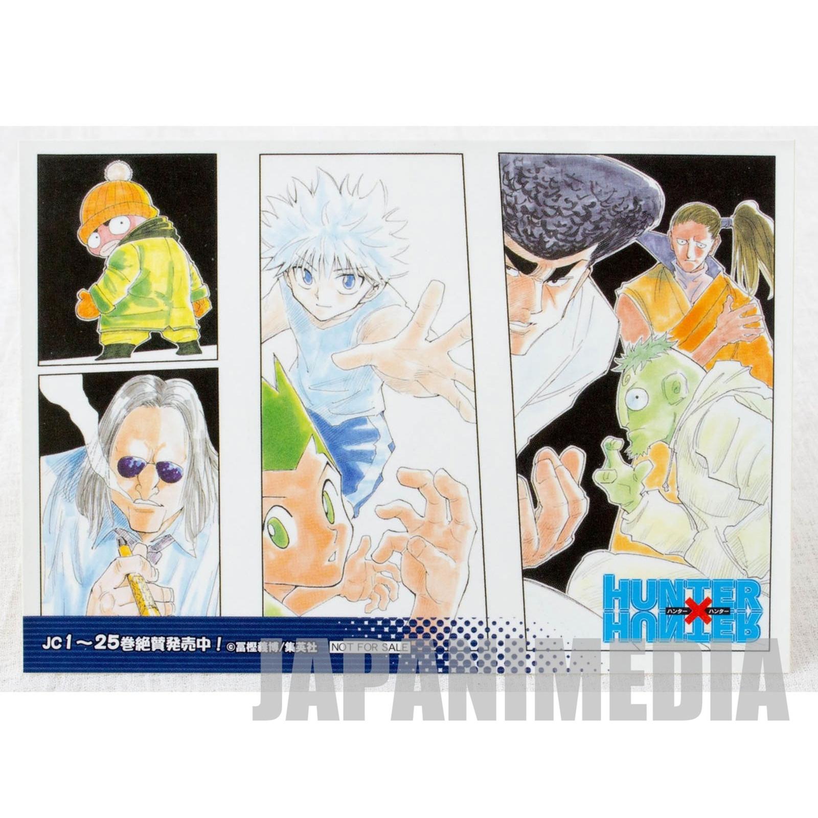 HUNTER x HUNTER Sticker [Gon / Killua / Morel / Knuckle / Shoot / Ikalgo / Meleoron] JAPAN ANIME MANGA