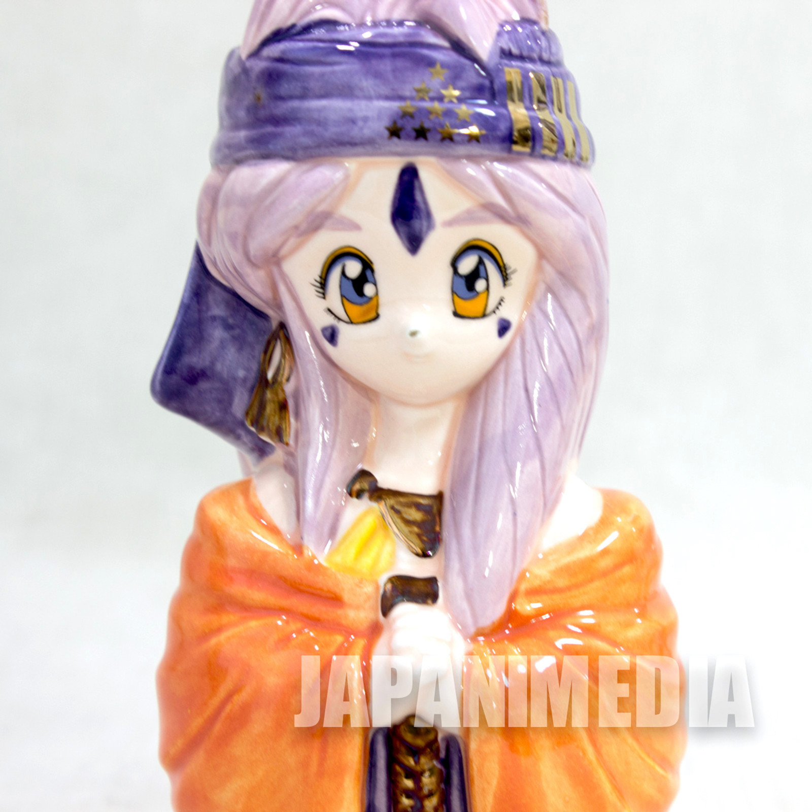 Ah! My Goddess Belldandy Ceramic Figure Coin Bank Volks JAPAN ANIME