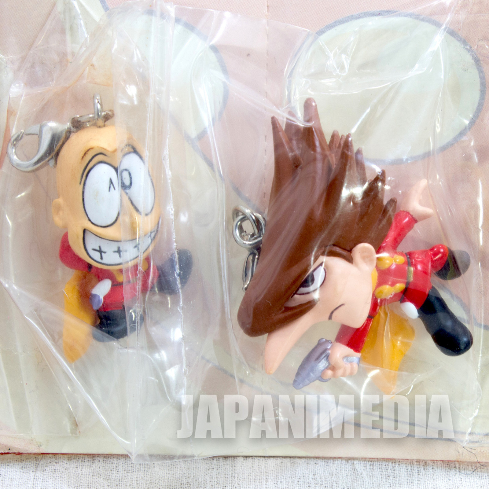 Cyborg 009 Ivano Ruocco 002 + Great Britain 007 Figure Mascot JAPAN ANIME