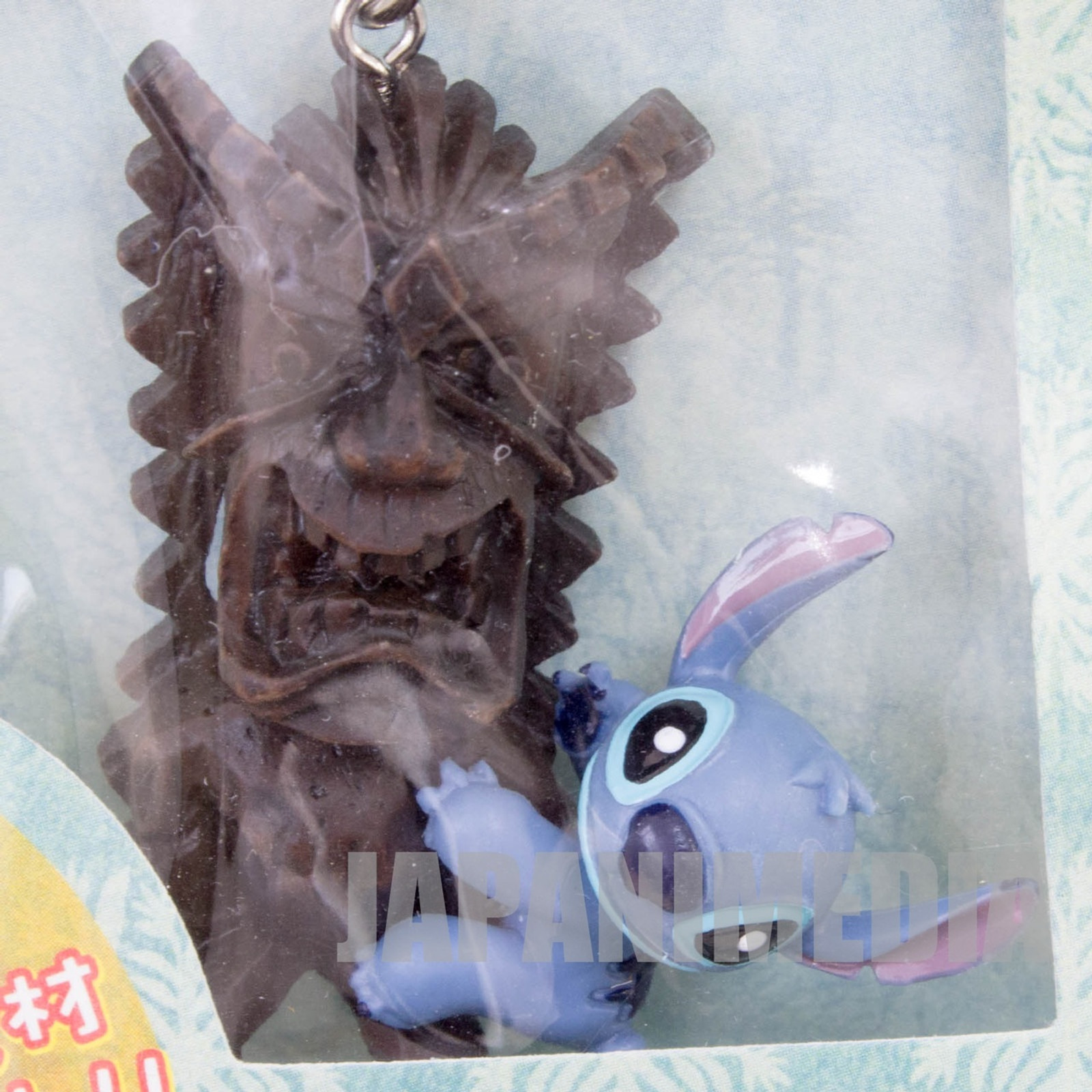 Disney Stitch Stitch & TIKI World Tour Figure Strap Hawaii ver. JAPAN ANIME
