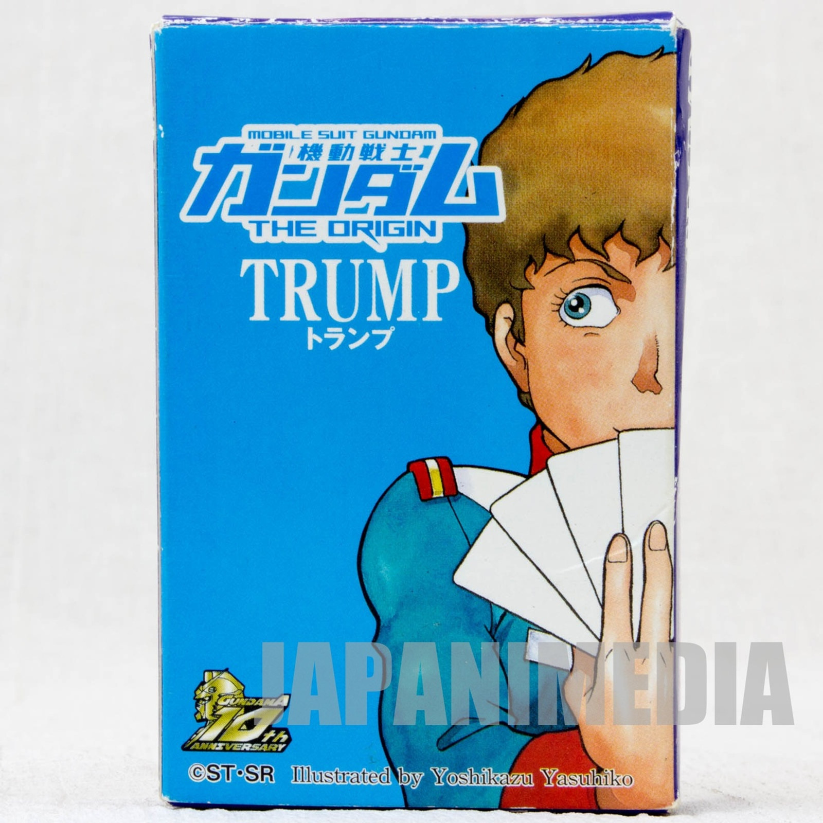GUNDAM The Origin Trump Playing Cards Gundam A 10th Anniversary JAPAN ANIME