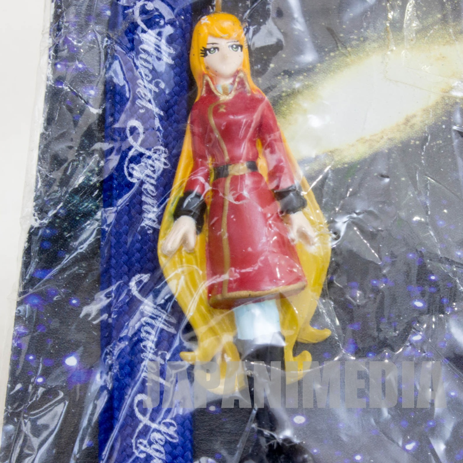 Galaxy Express 999 Queen Emeraldas Maetel Legend Strap JAPAN ANIME
