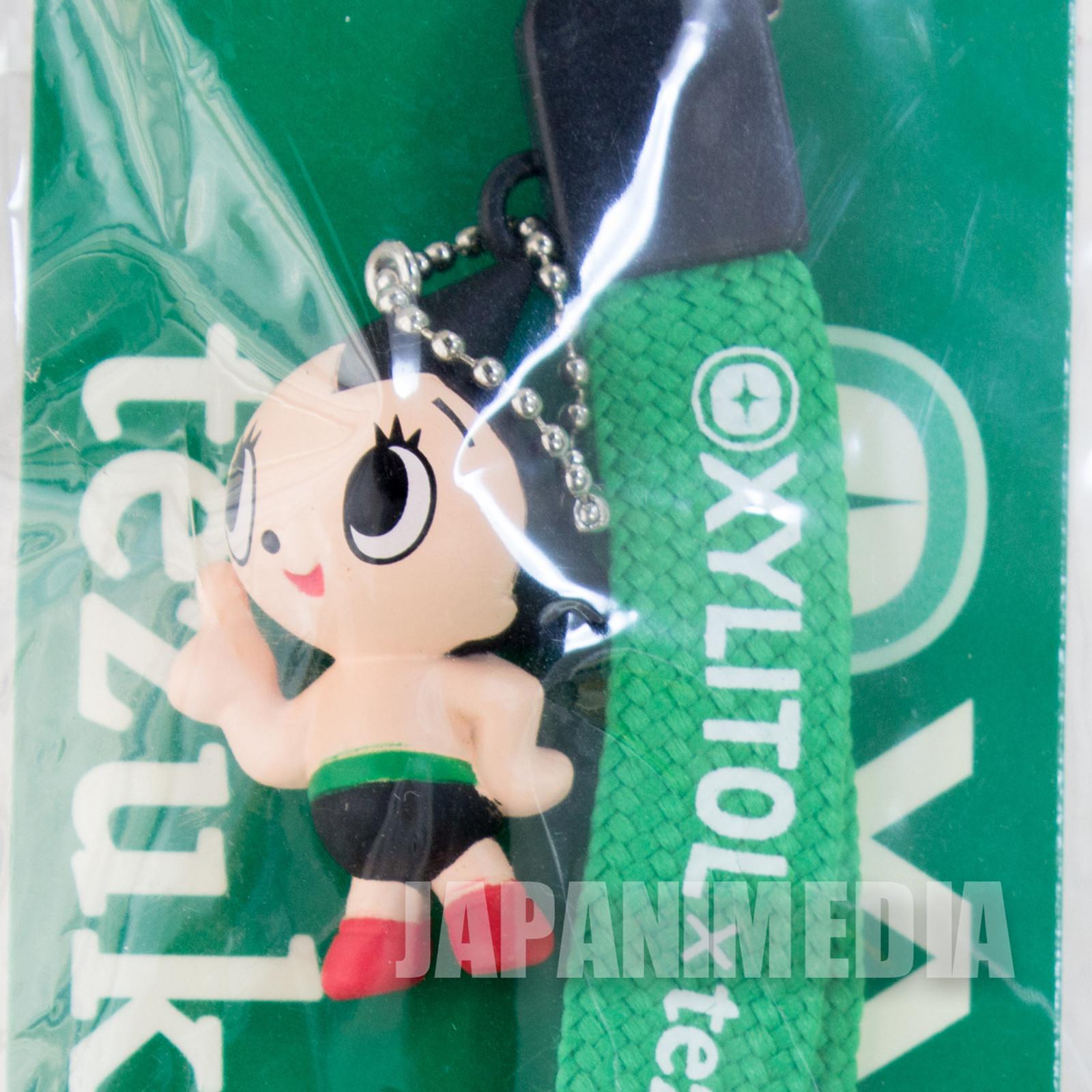 Astro Boy Atom Mascot Figure Strap XYLITOL 10th Anniversary Tezuka Osamu JAPAN