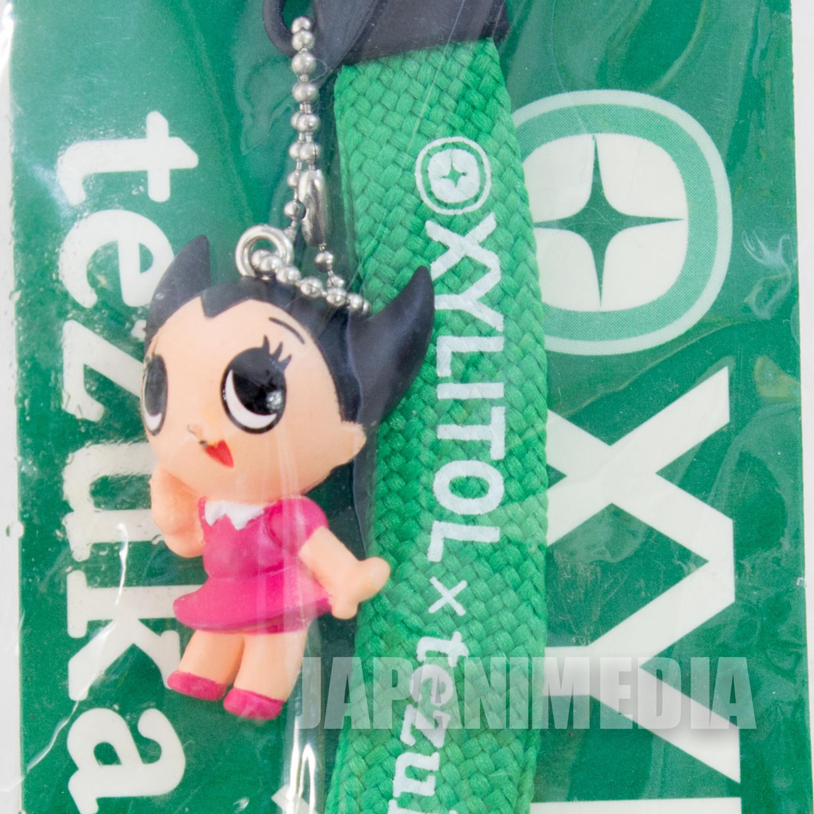 Astro Boy Uran Mascot Figure Strap XYLITOL 10th Anniversary Tezuka Osamu