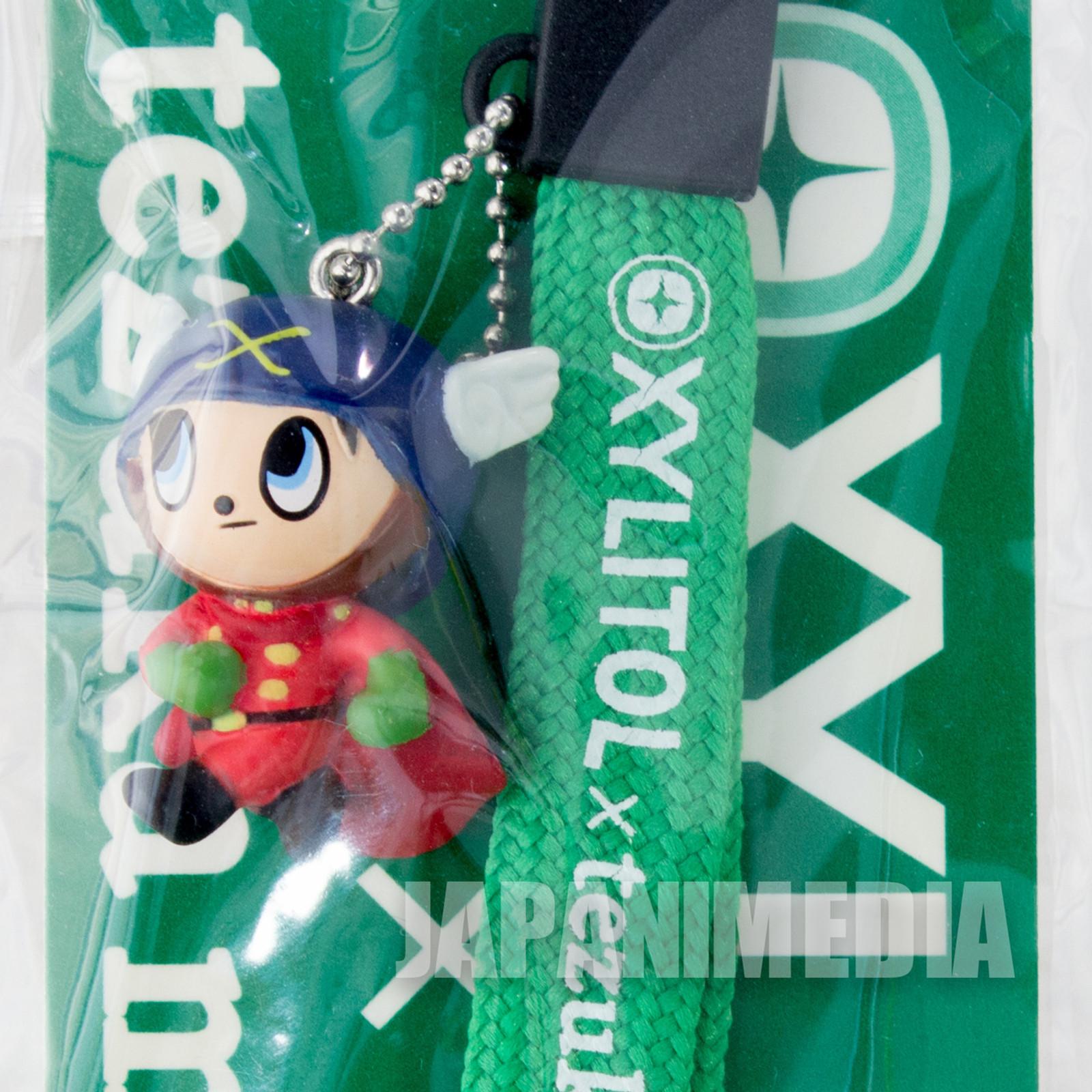 Big X Akira Asagumo Mascot Figure Strap XYLITOL 10th Anniversary Tezuka Osamu