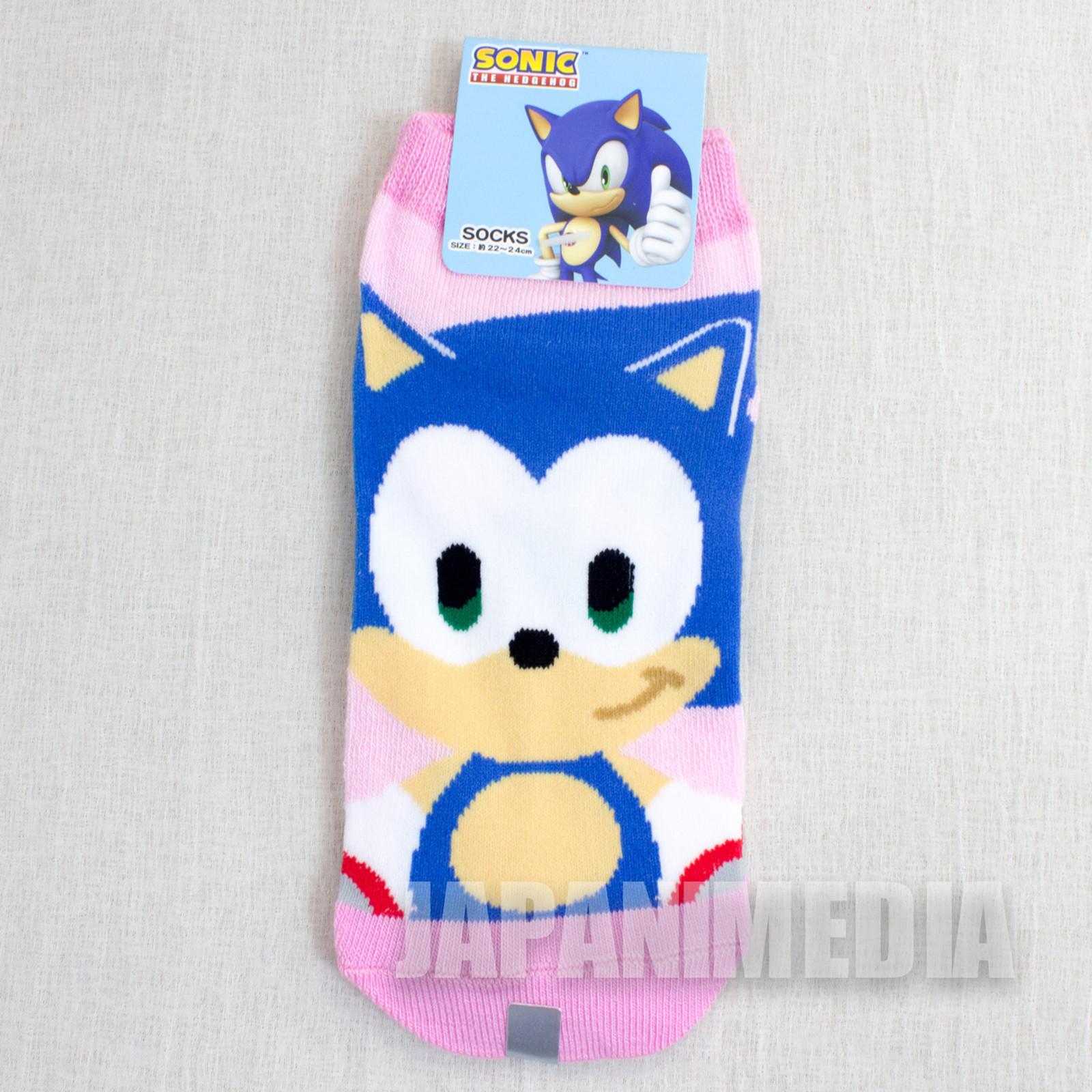 Sonic The Hedgehog #1 a Pair of Socks Size 22-24cm JAPAN ANIME MANGA