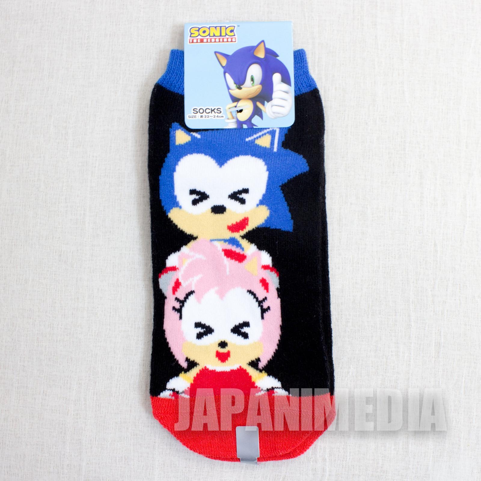 Sonic The Hedgehog #2 a Pair of Socks Size 22-24cm JAPAN ANIME MANGA