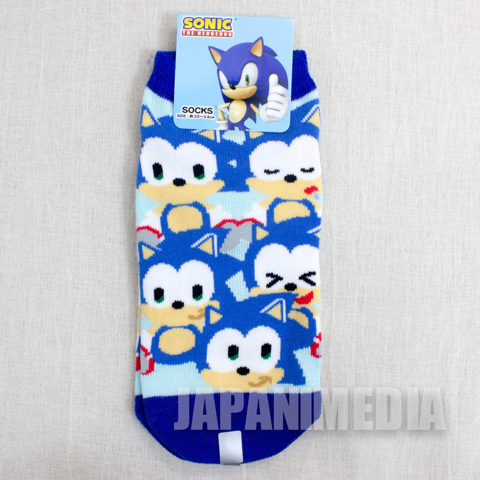 Sonic The Hedgehog #3 a Pair of Socks Size 22-24cm JAPAN ANIME MANGA