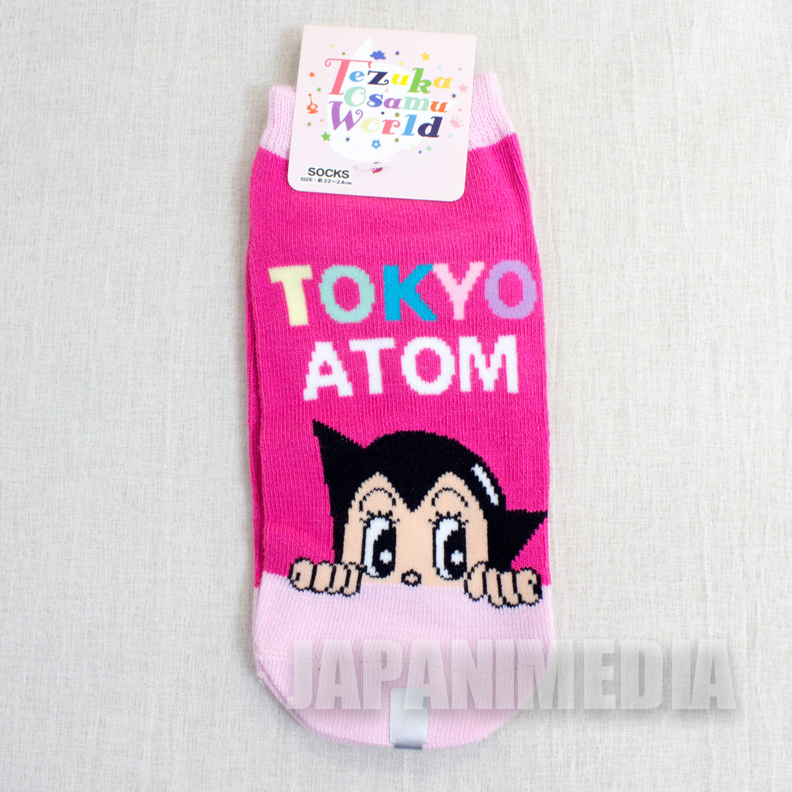 Astro Boy Atom #2 a Pair of Socks Size 22-24cm JAPAN ANIME MANGA