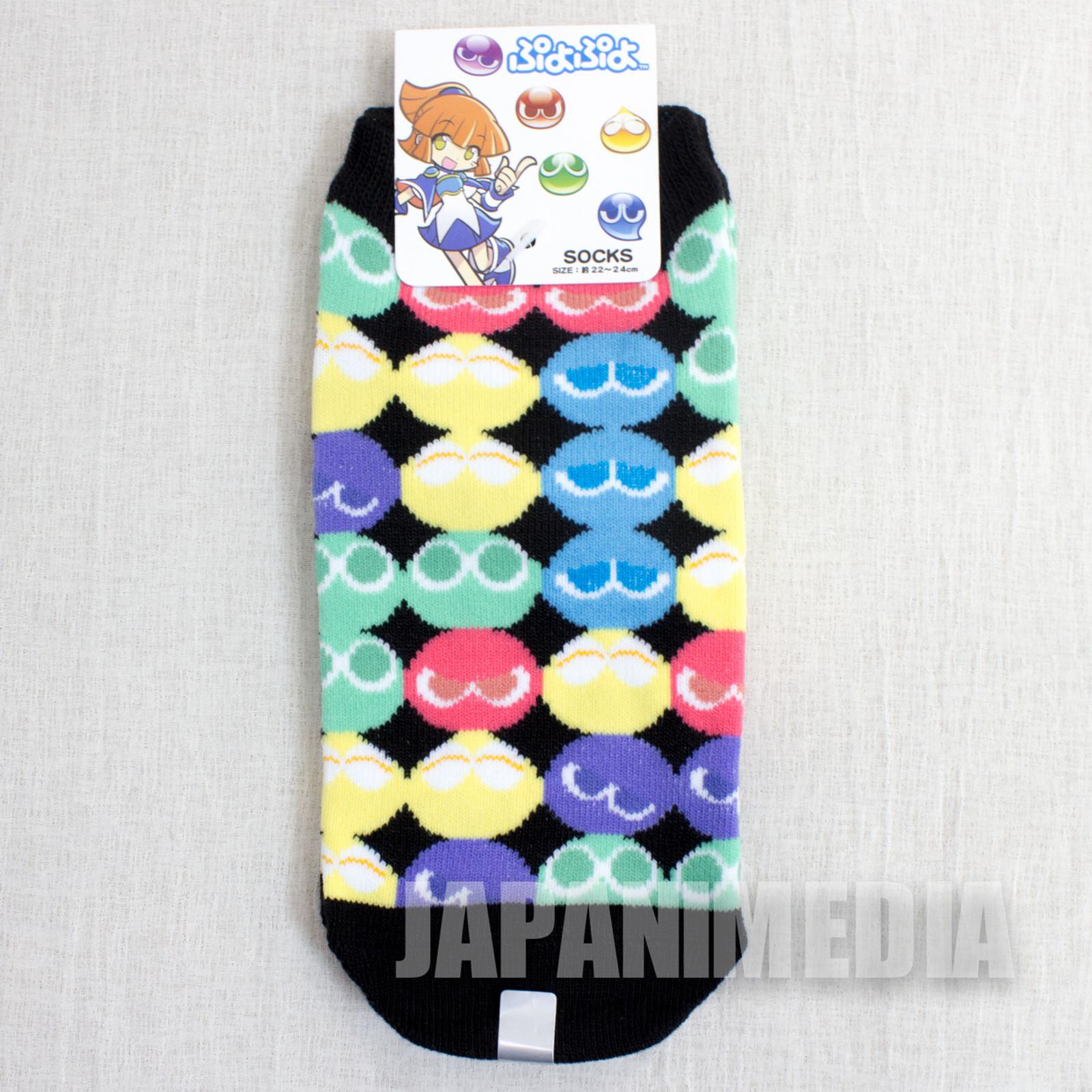 Puyo Puyo #2 a Pair of Socks Size 22-24cm JAPAN ANIME MANGA