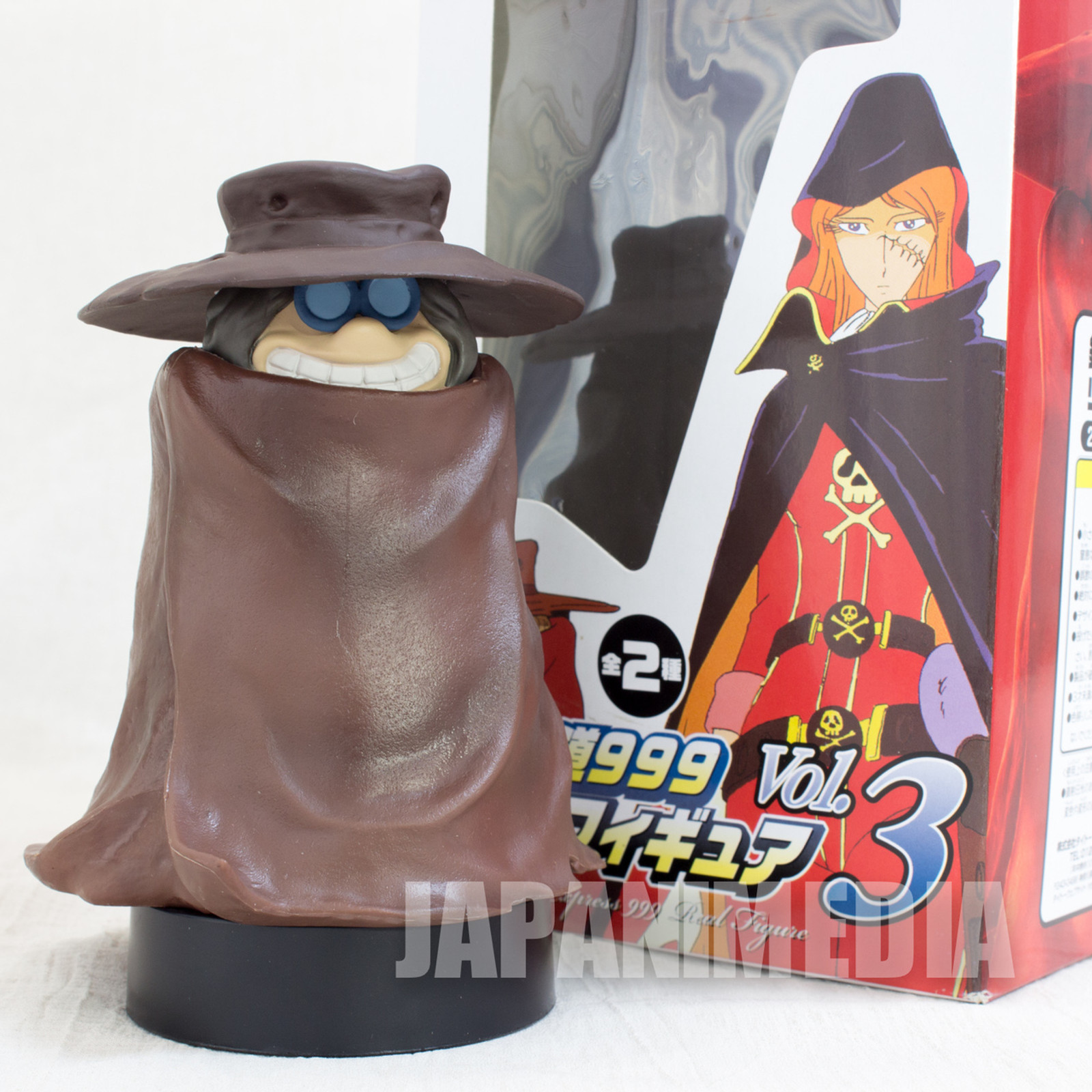 Galaxy Express 999 Tochiro Real Figure Taito JAPAN ANIME
