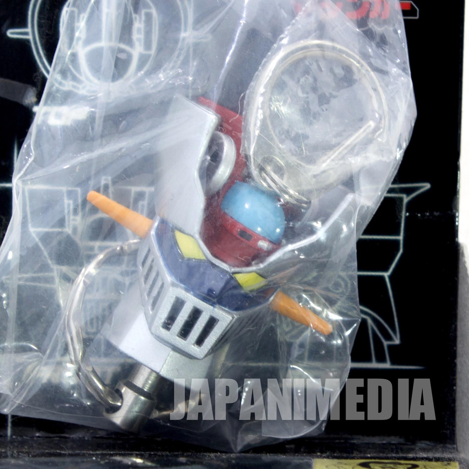 Mazinger Z Head Figure type Detachable Keychian JAPAN ANIME MANGA NAGAI GO