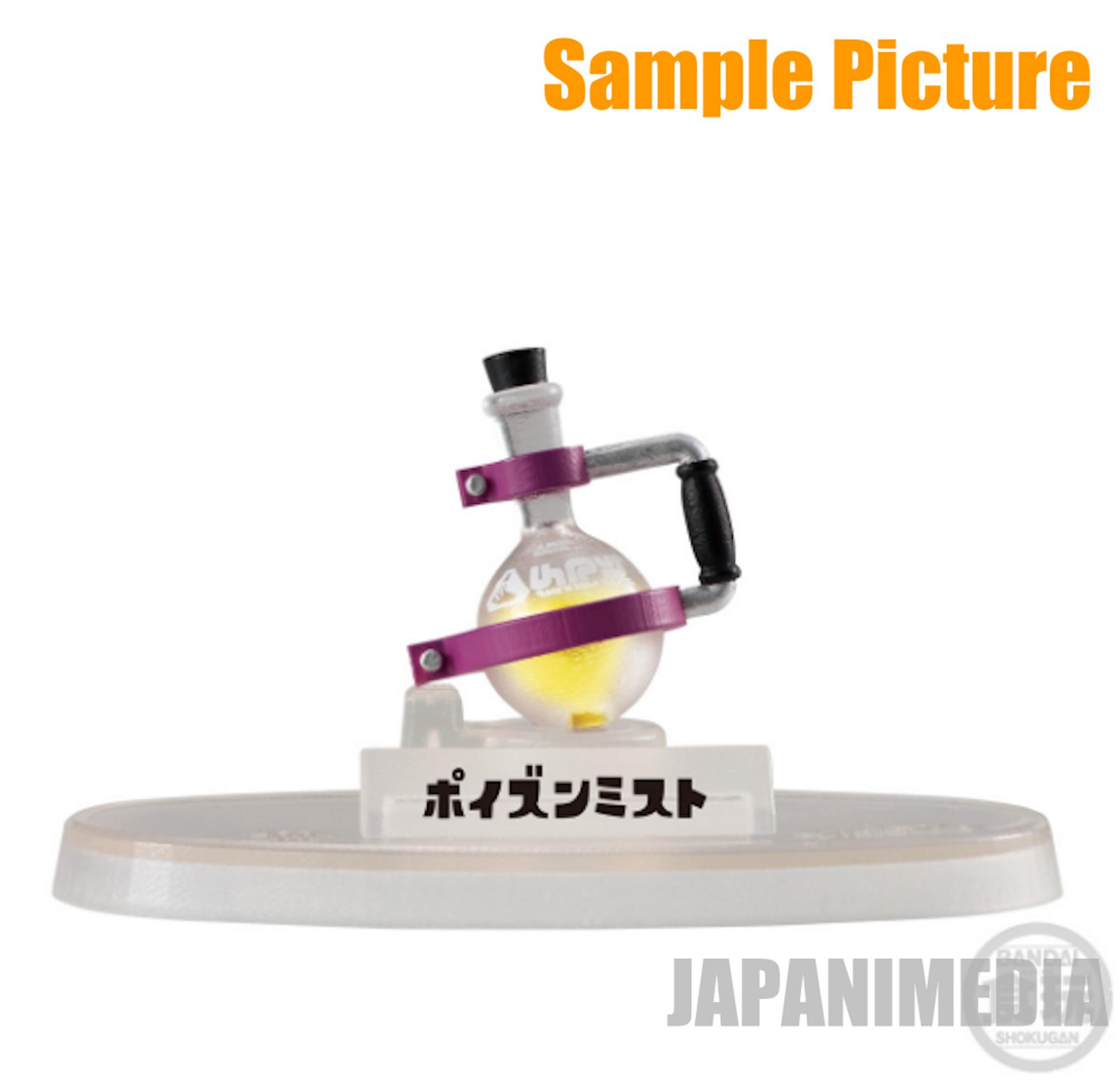 Splatoon 2 Toxic Mist Sub Weapon Figure Collection JAPAN Nintendo Switch