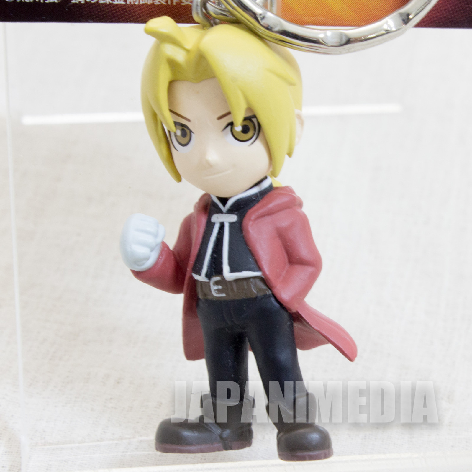 FullMetal Alchemist Edward Elric Figure Key Chain JAPAN ANIME 2