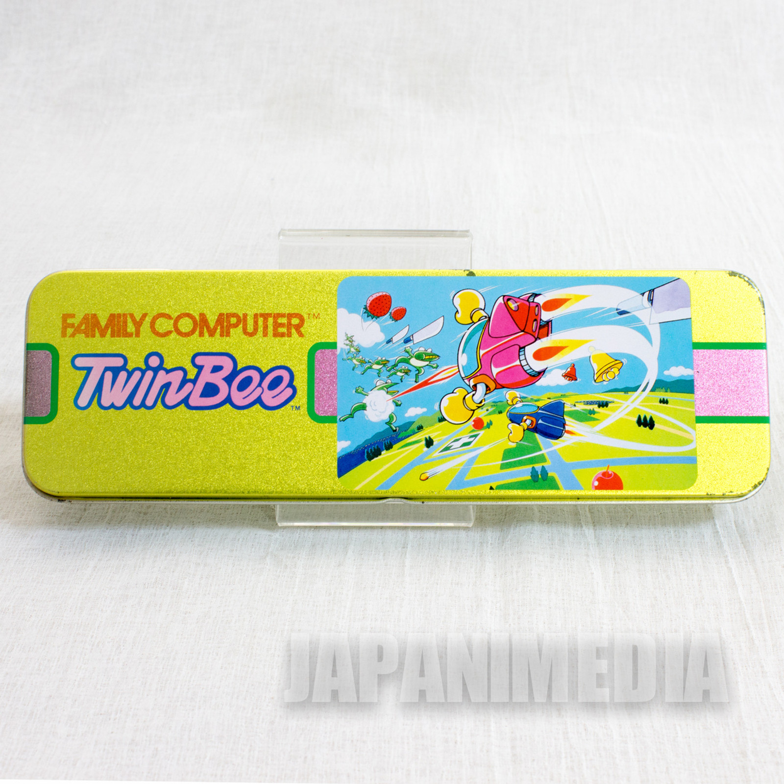 RARE! TwinBee Pen Case Konami JAPAN GAME FAMICOM NES