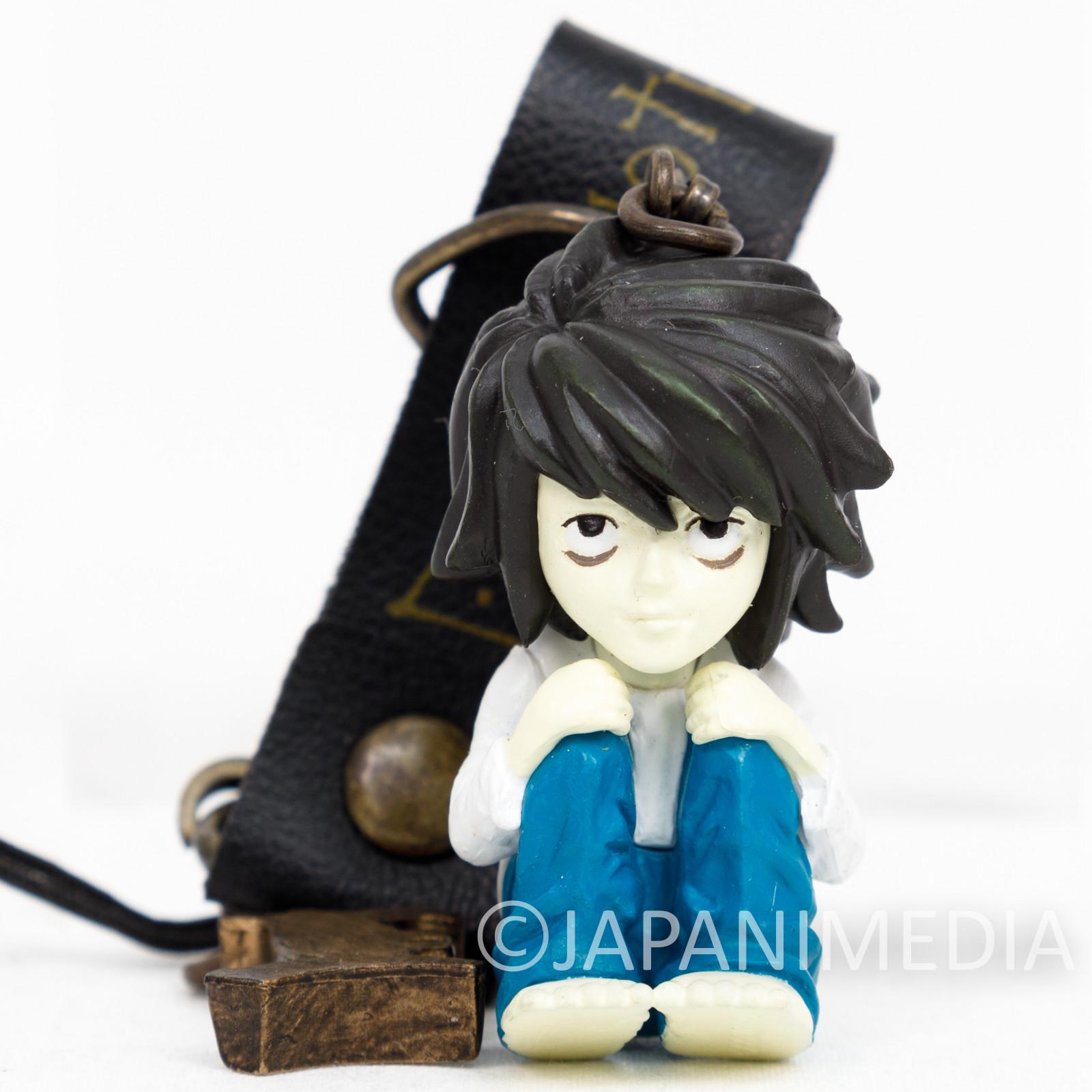 RARE! Death Note L Ryuzaki Figure Strap Shonen Jump JAPAN ANIME MANGA 2