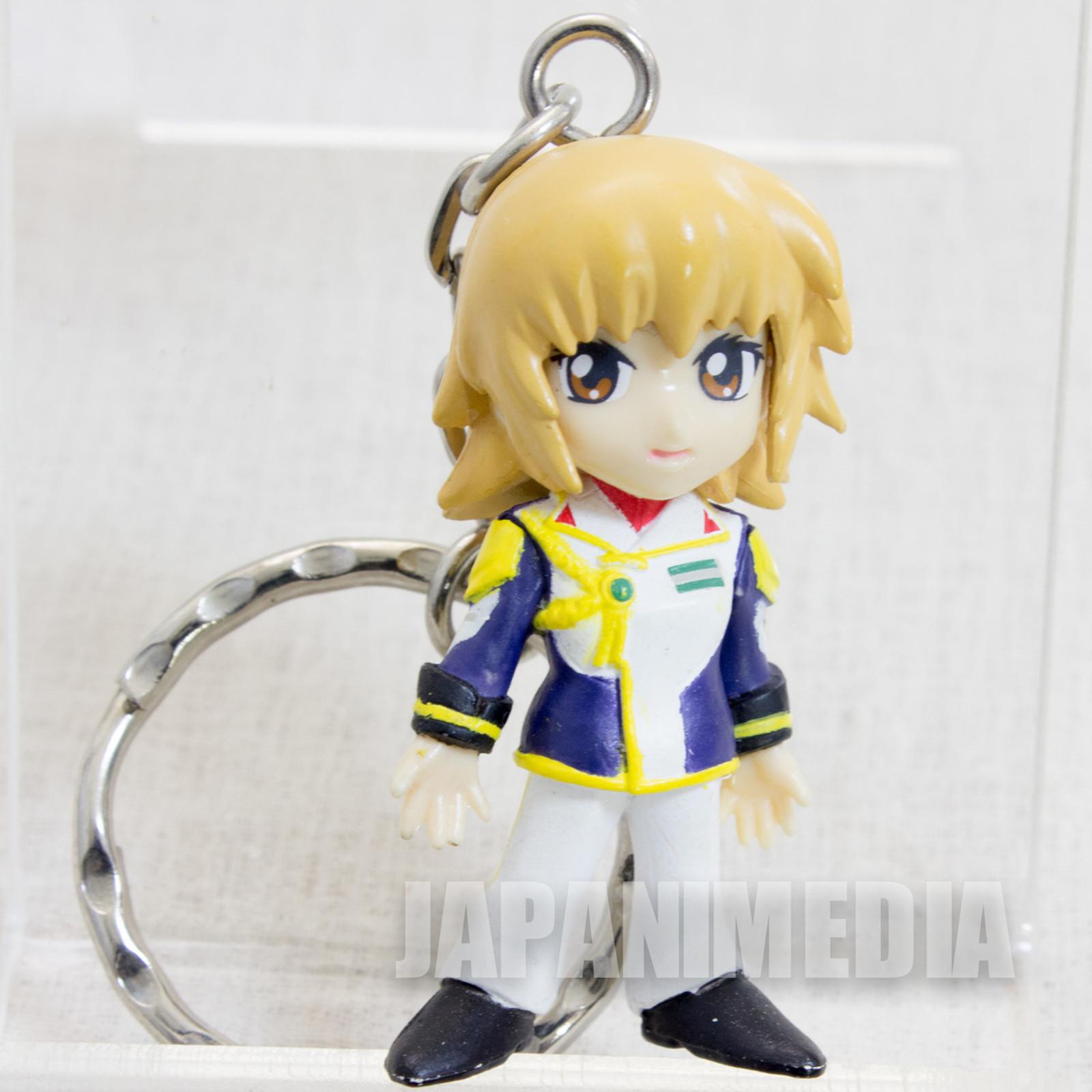 Gundam Seed Cagalli Yula Athha Figure Keychain JAPAN ANIME