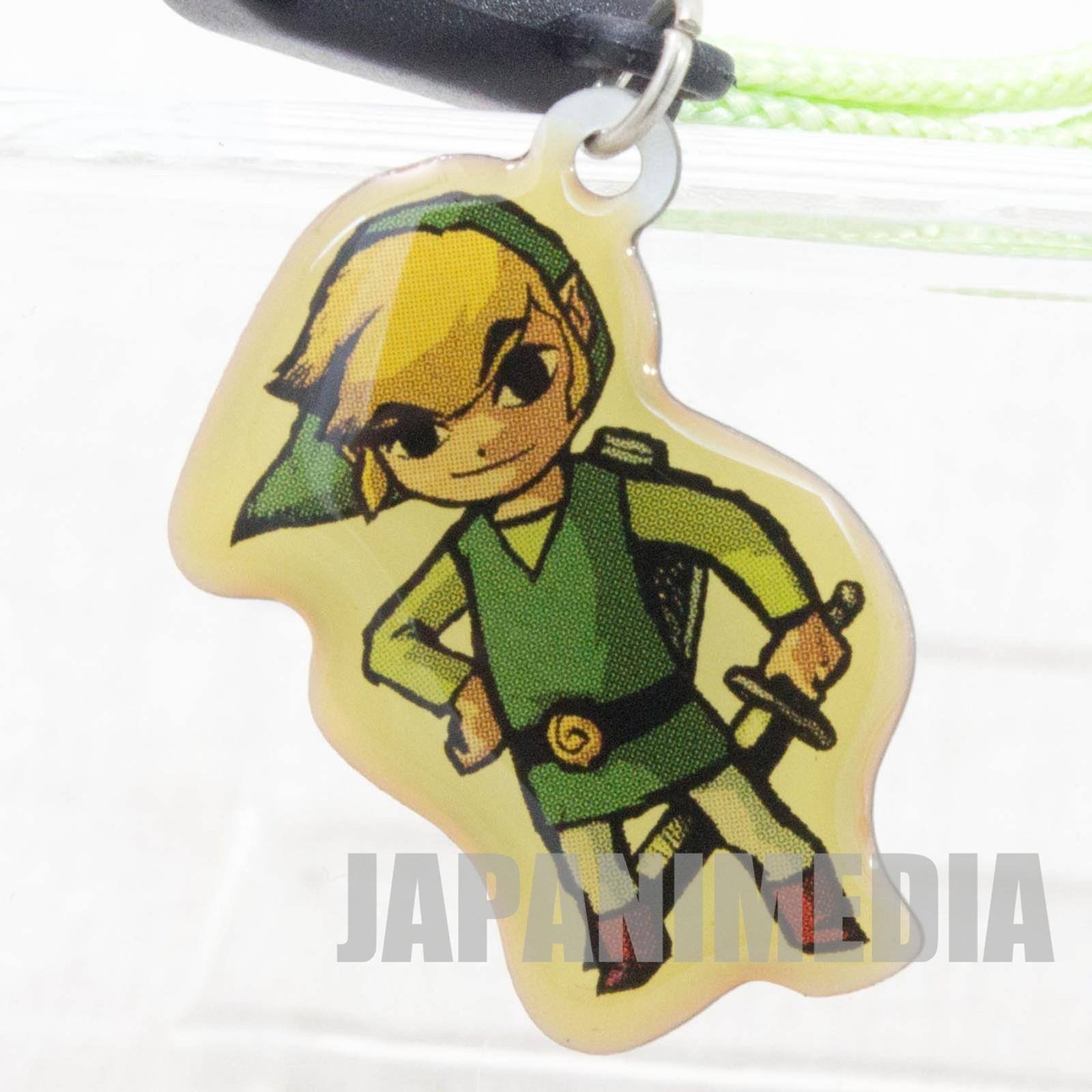 The Legend of Zelda: The Wind Waker Link Charm Strap Nintendo JAPAN GAME