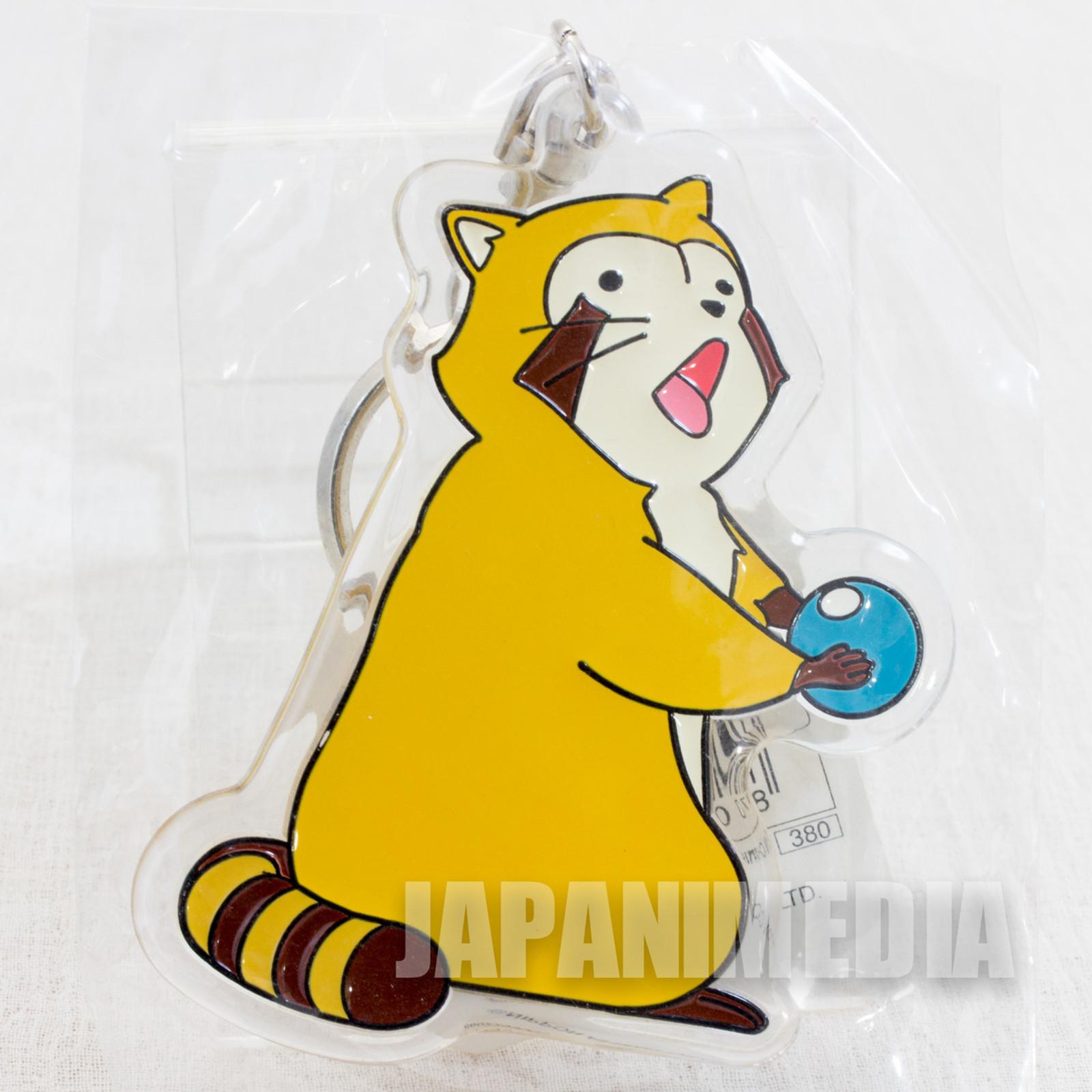 Rascal the Raccoon Mascot Acrylic Key Chain JAPAN ANIME 2