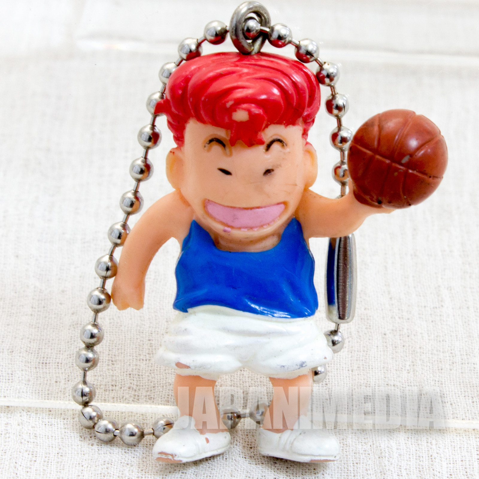 SLAM DUNK Hanamichi Sakuragi Mini Figure Ball Key Chain JAPAN ANIME MANGA 1