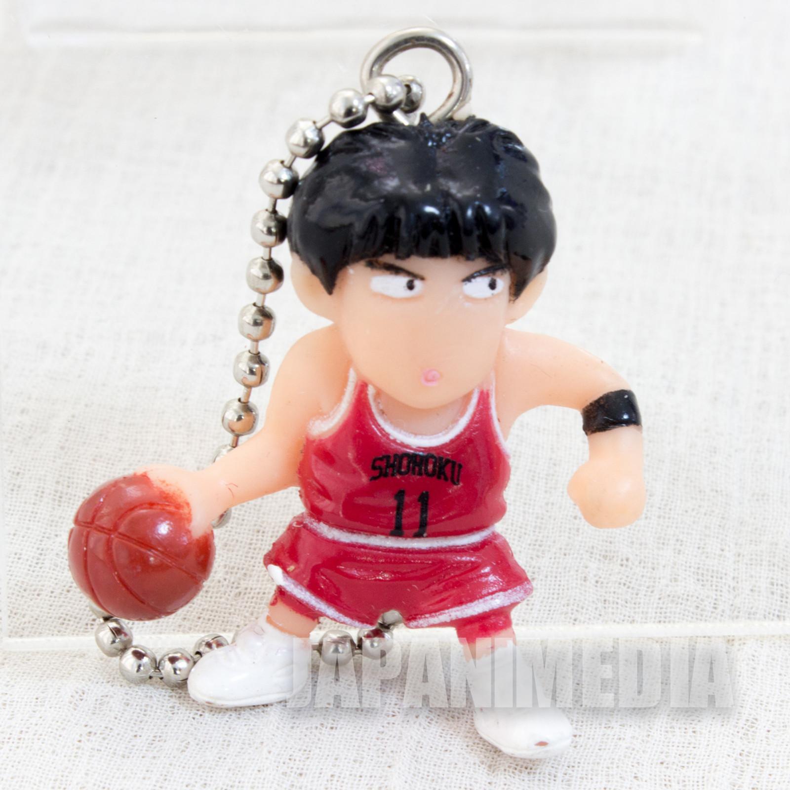 SLAM DUNK Kaede Rukawa Mini Figure Ball Key Chain JAPAN ANIME MANGA 1