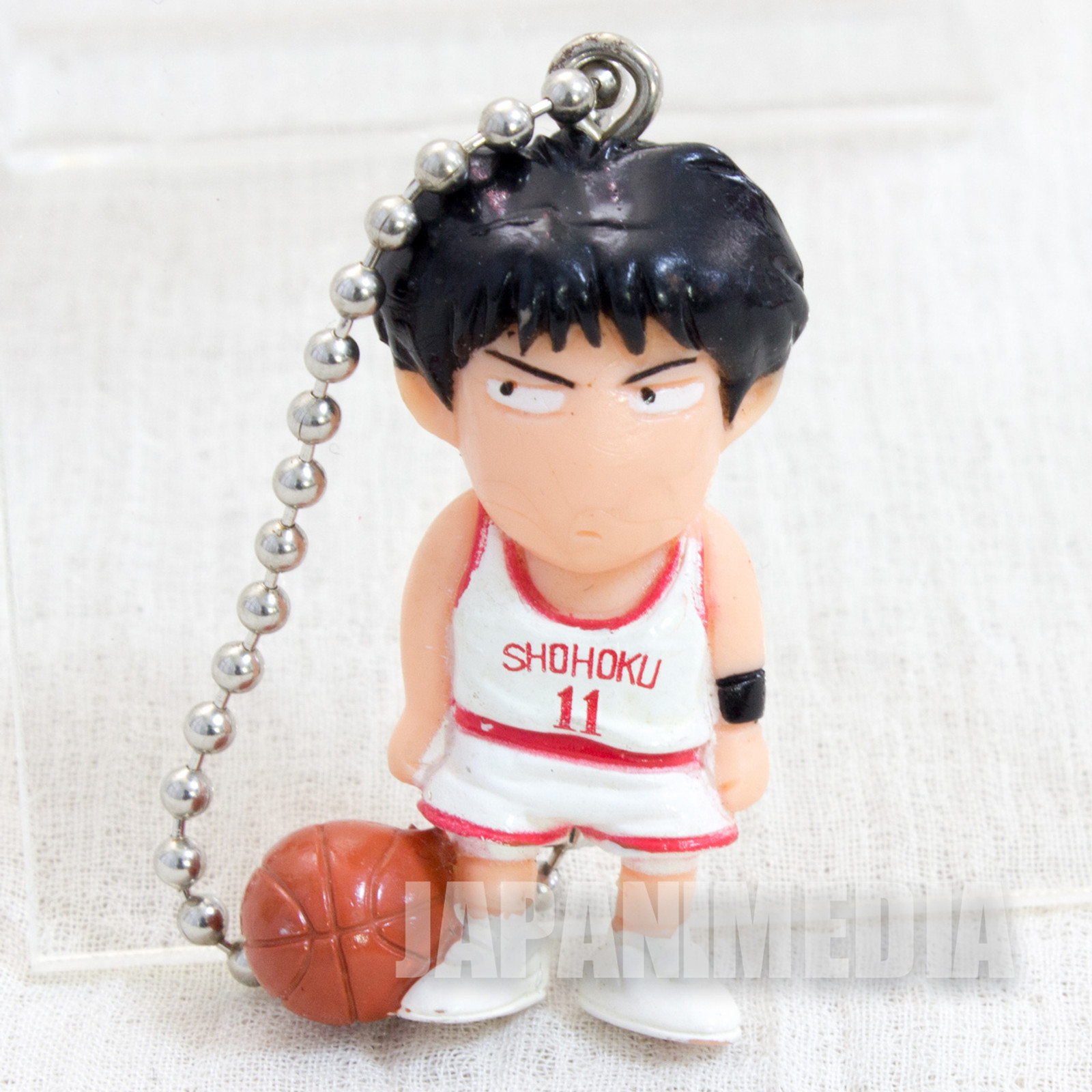 SLAM DUNK Kaede Rukawa Mini Figure Ball Key Chain JAPAN ANIME MANGA 2
