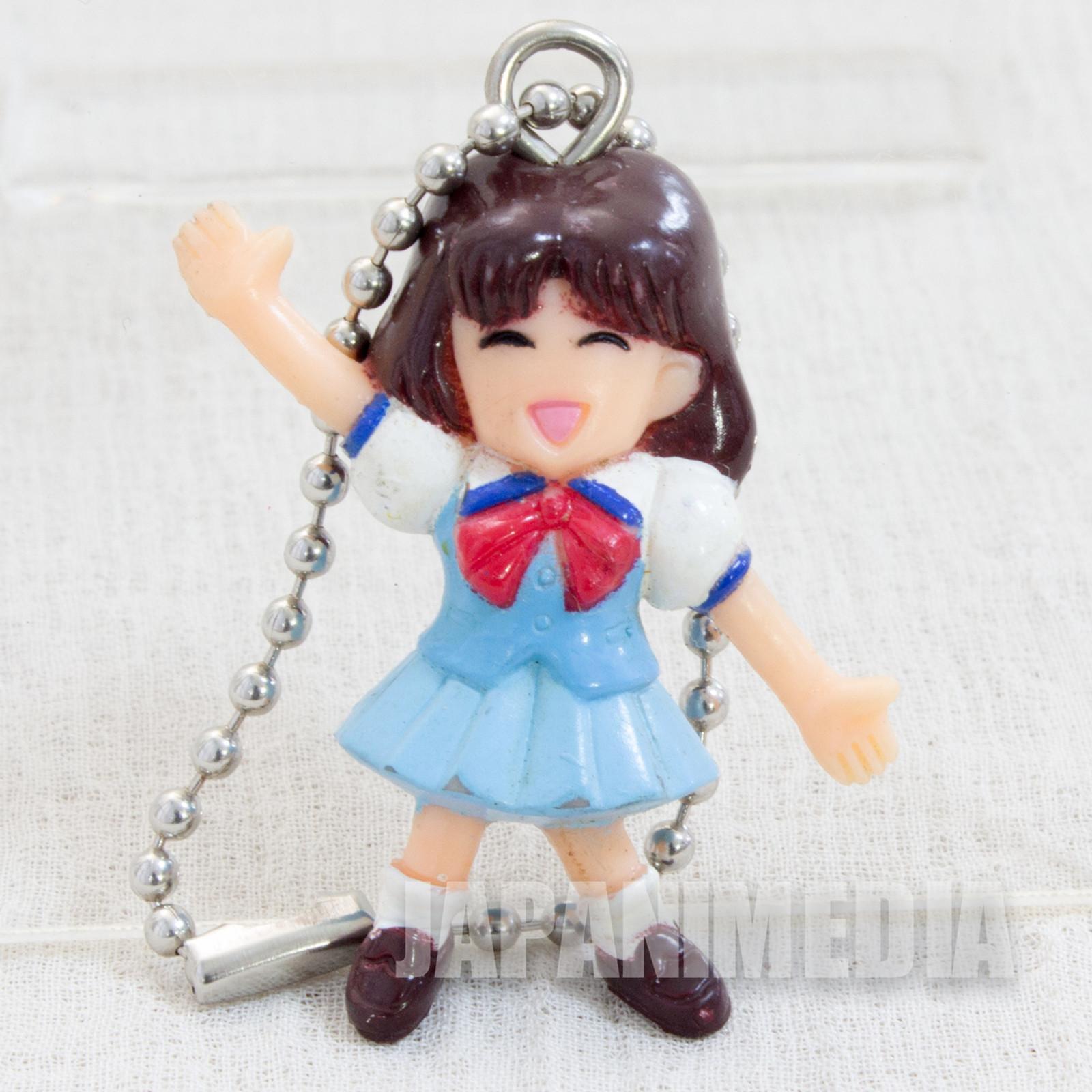 SLAM DUNK Haruko Akagi Mini Figure Ball Key Chain JAPAN ANIME MANGA