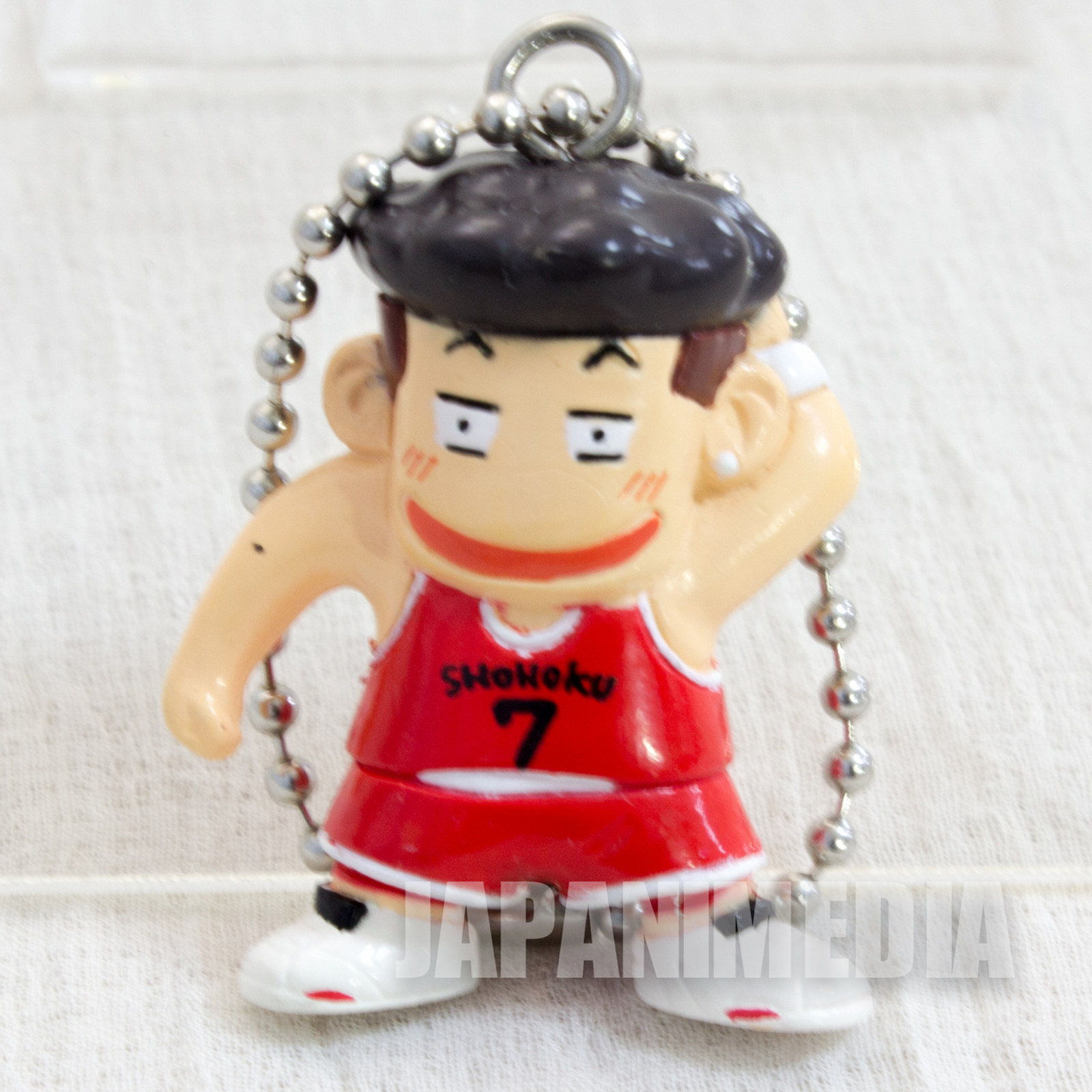 SLAM DUNK Ryota Miyagi Mini Figure Ball Key Chain JAPAN ANIME MANGA 1