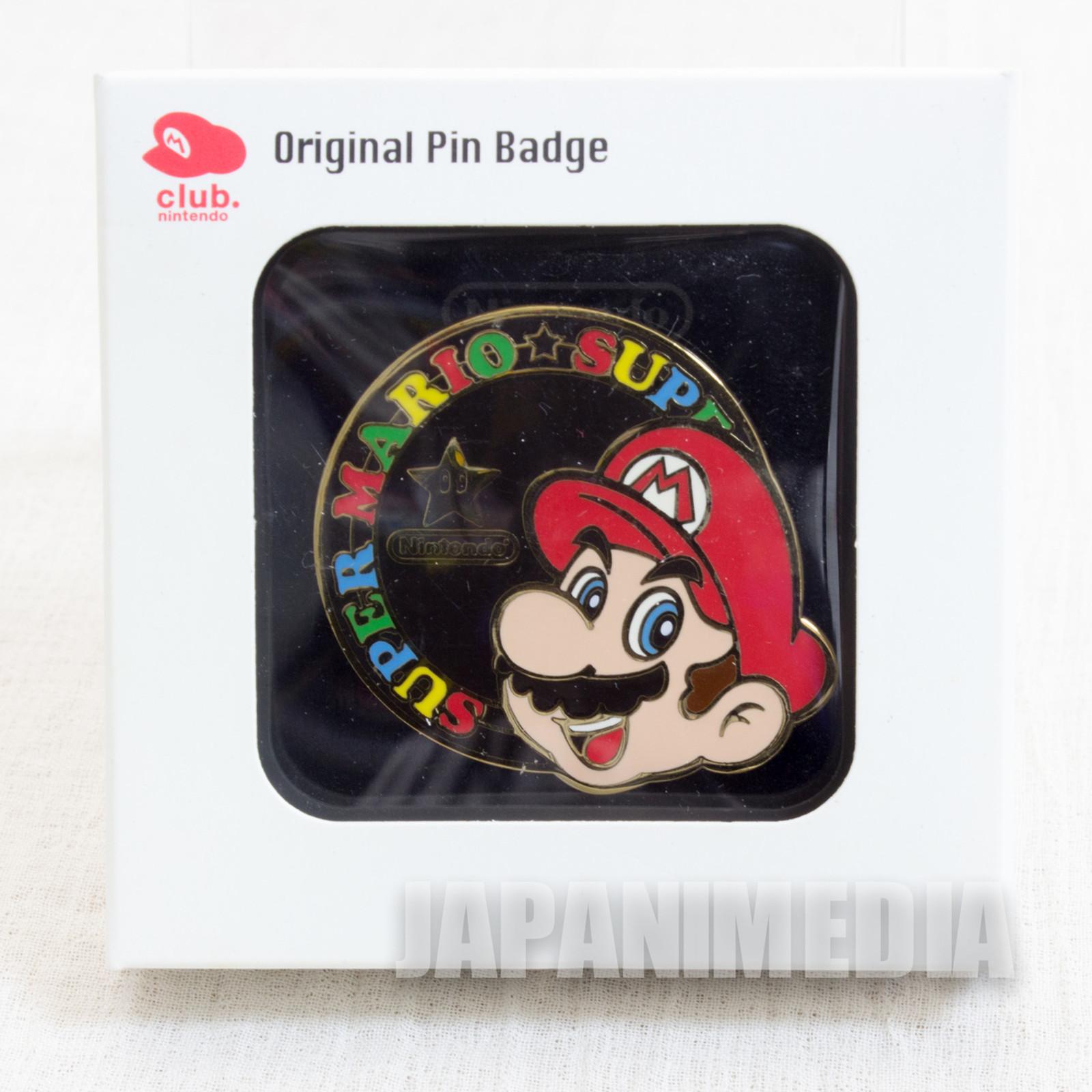 Club Nintendo Super Mario Bros. Pins Famicom NES NINTENDO JAPAN 2