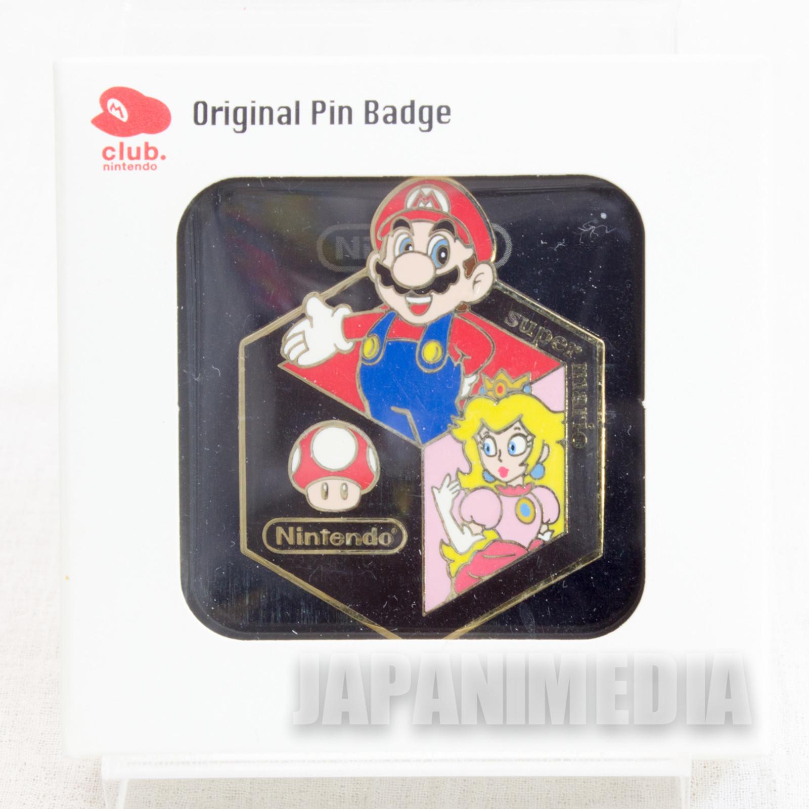Club Nintendo Super Mario Bros. Pins Famicom NES NINTENDO JAPAN 3