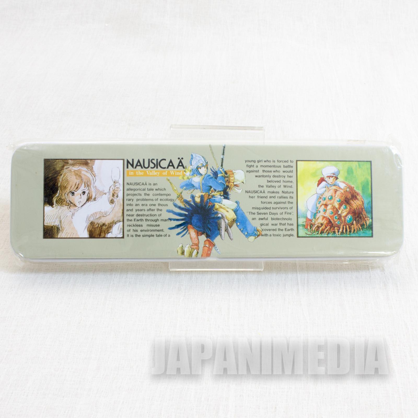 Retro RARE Nausicaa of the Valley Can Pen Case Tokuma Shoten Ghibli JAPAN 4