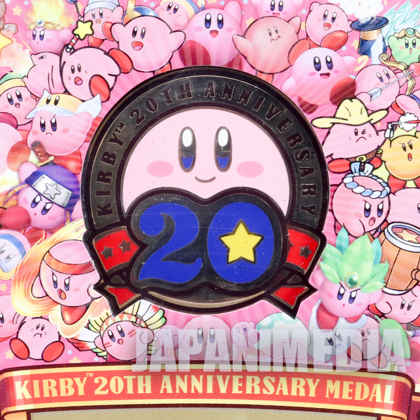 Kirby Super Star Kirby's 20th Anniversary Medal Nintendo